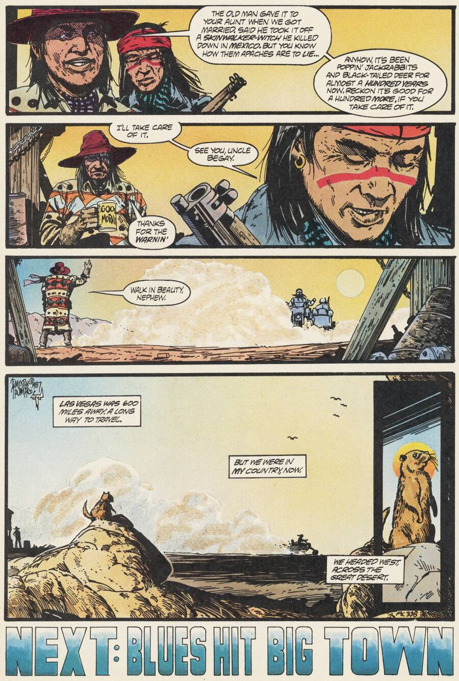 Read online Scout comic -  Issue #17 - 26