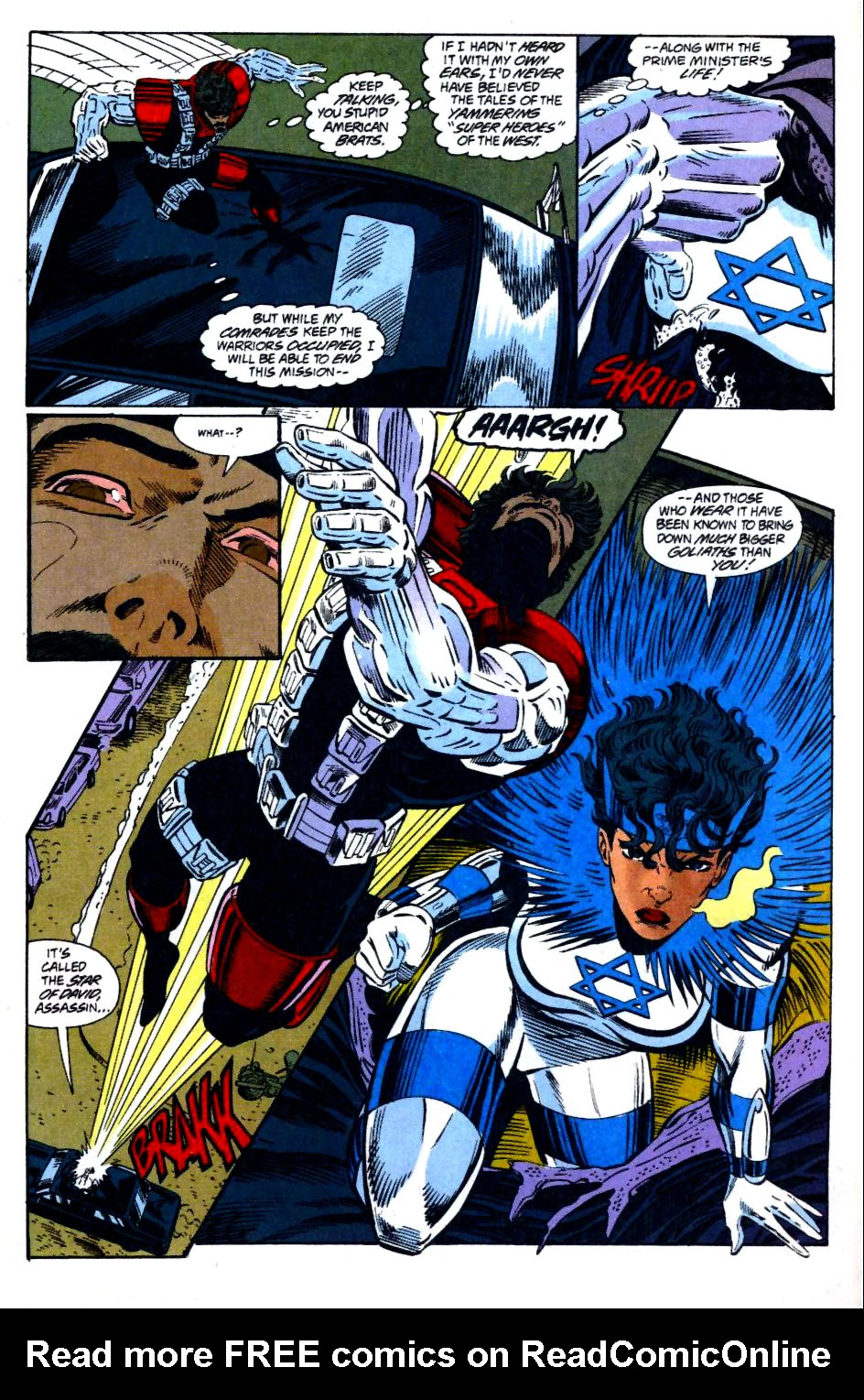 The New Warriors Issue #58 #62 - English 7