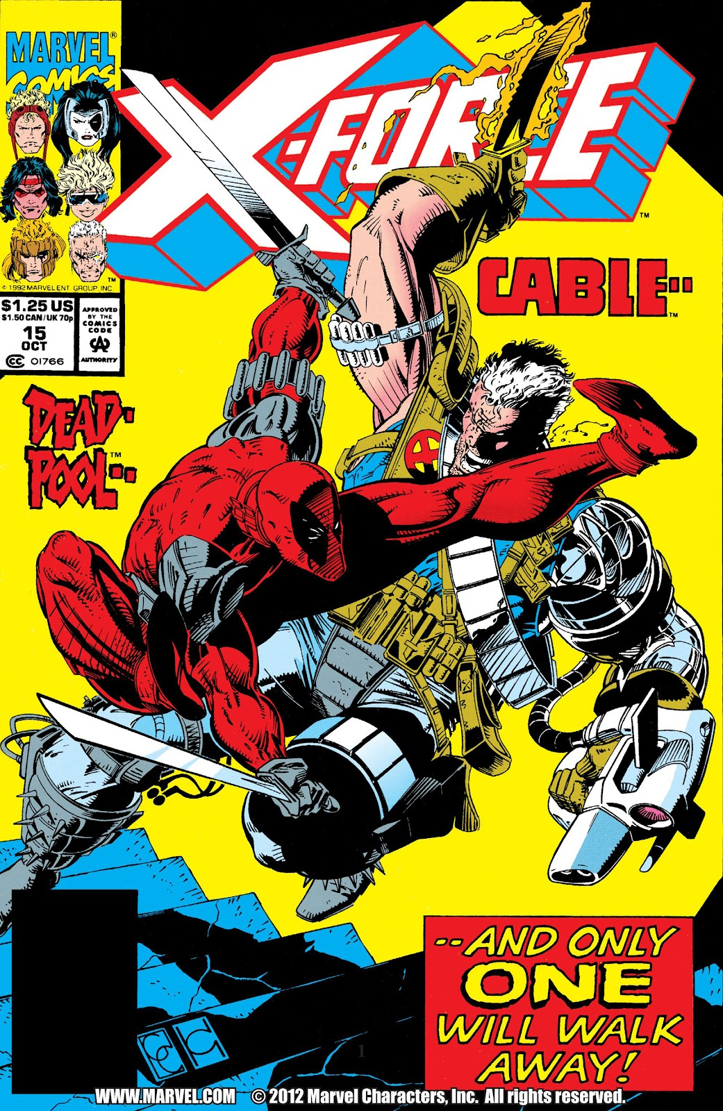 X-Force (1991) 15 Page 1