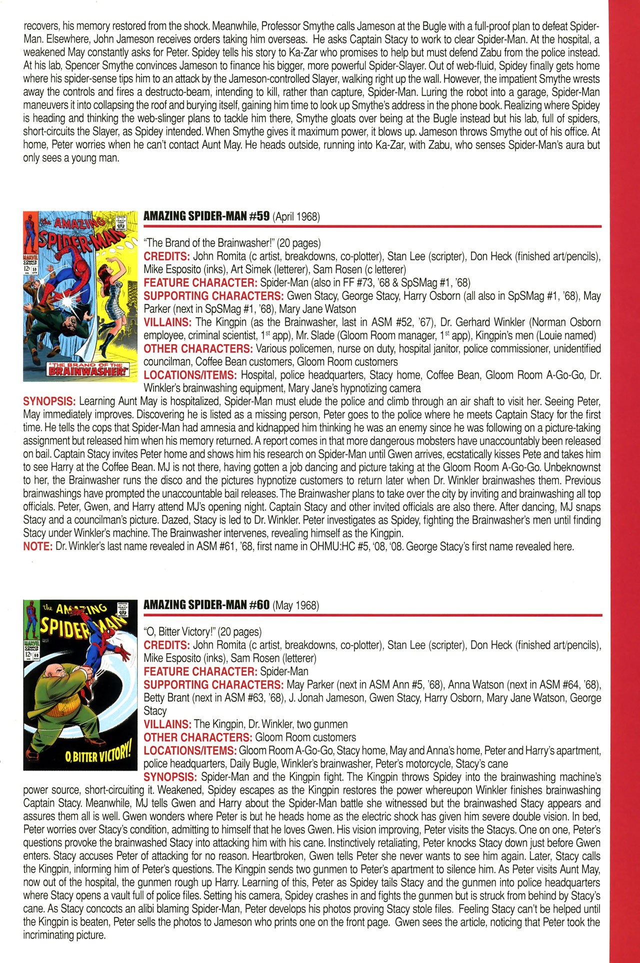 Read online Official Index to the Marvel Universe comic -  Issue #2 - 5