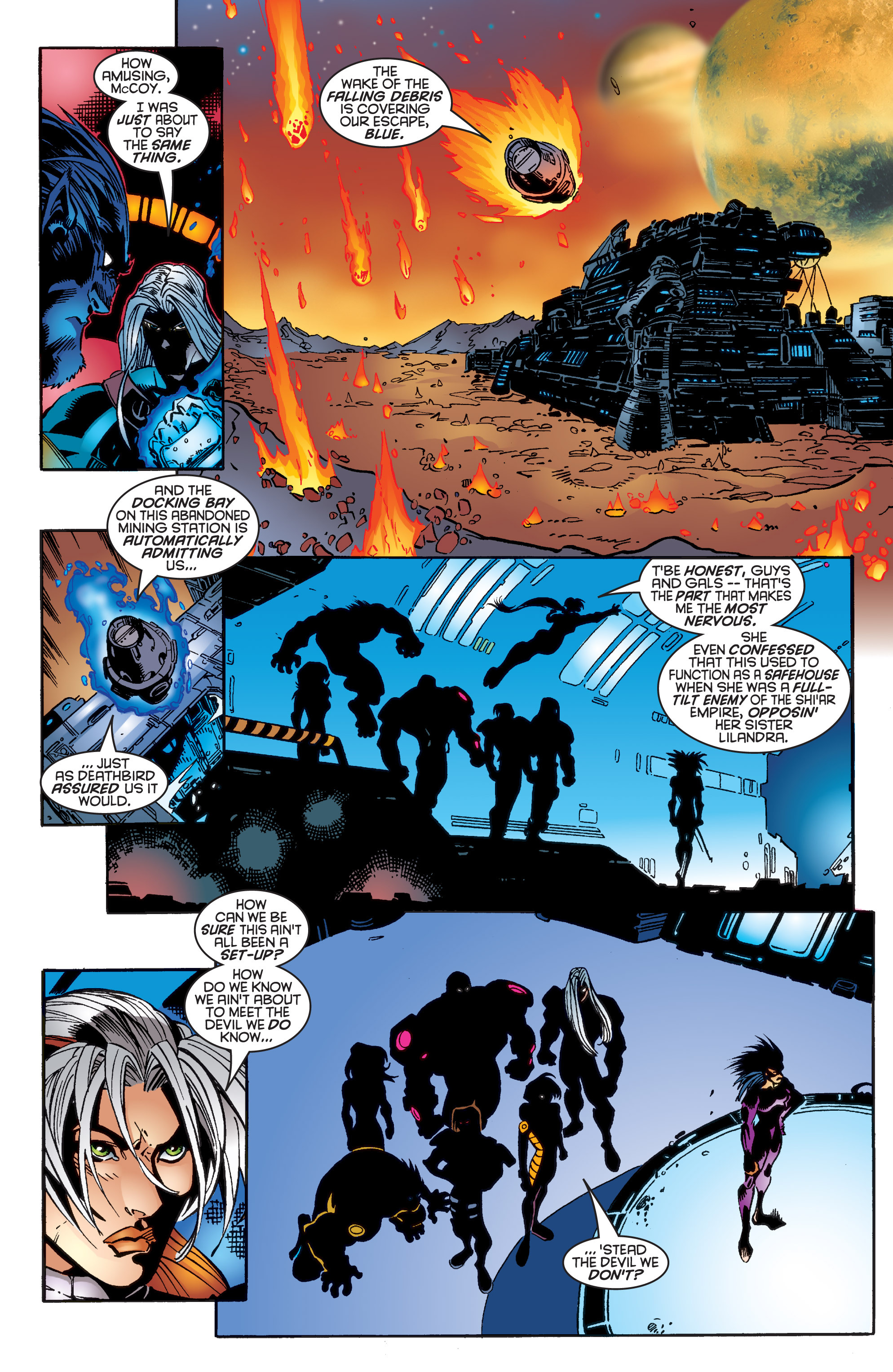Read online Uncanny X-Men (1963) comic -  Issue #343 - 22