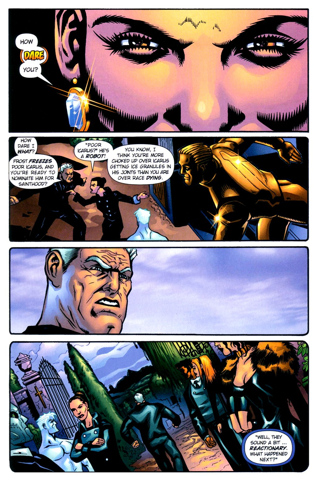 Read online Noble Causes (2002) comic -  Issue #2 - 15
