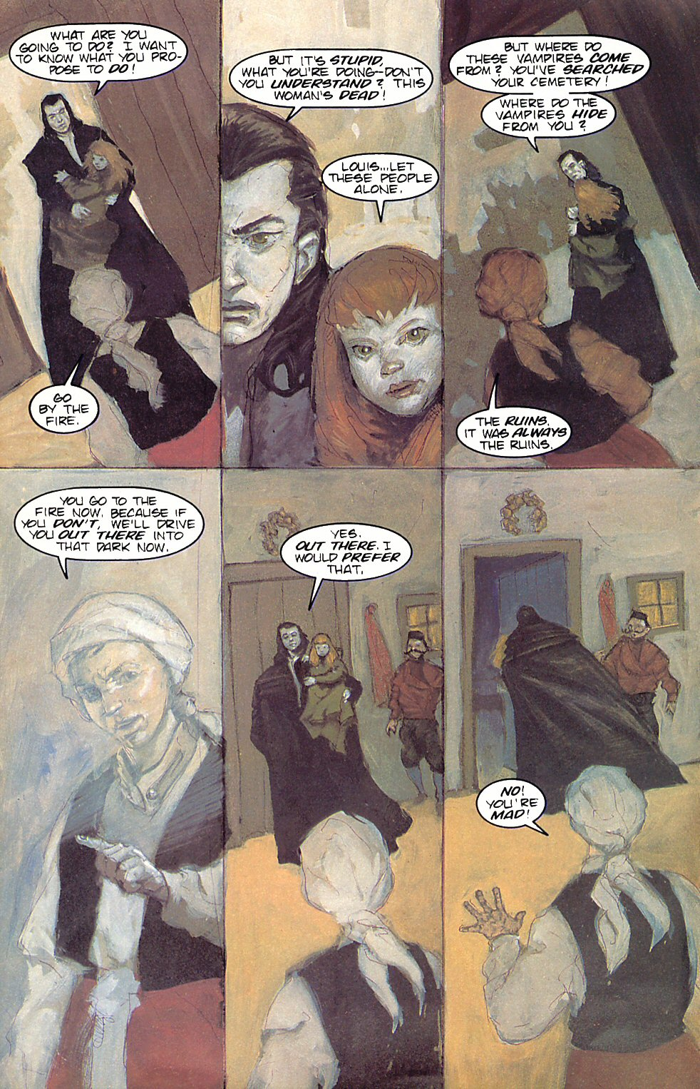 Read online Anne Rice's Interview with the Vampire comic -  Issue #6 - 31