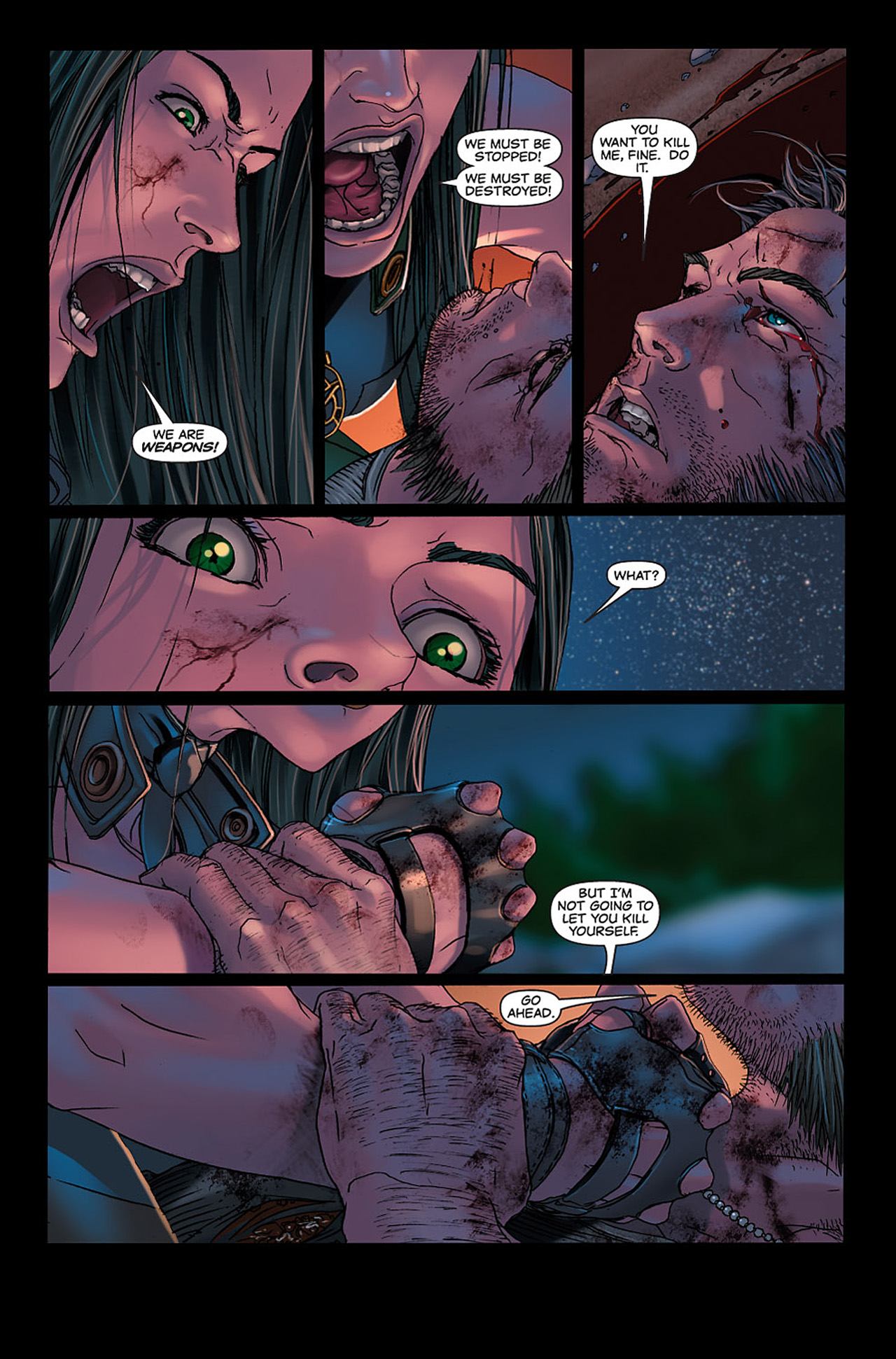 Read online X-23: Target X comic -  Issue #6 - 14