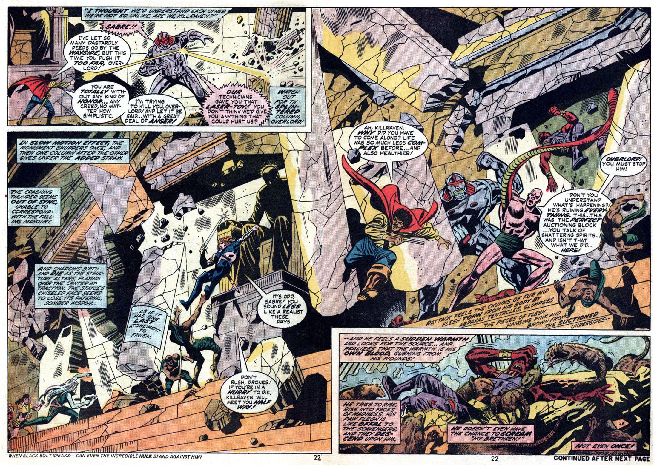 Read online Amazing Adventures (1970) comic -  Issue #24 - 23