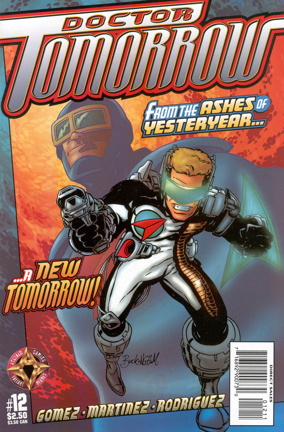 Read online Doctor Tomorrow comic -  Issue #12 - 1