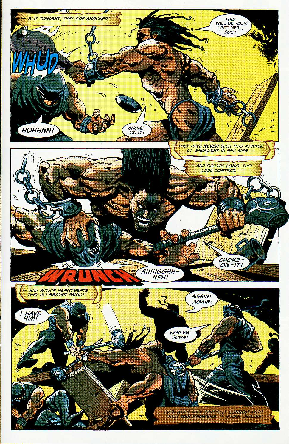 Read online Conan: Return of Styrm comic -  Issue #1 - 19