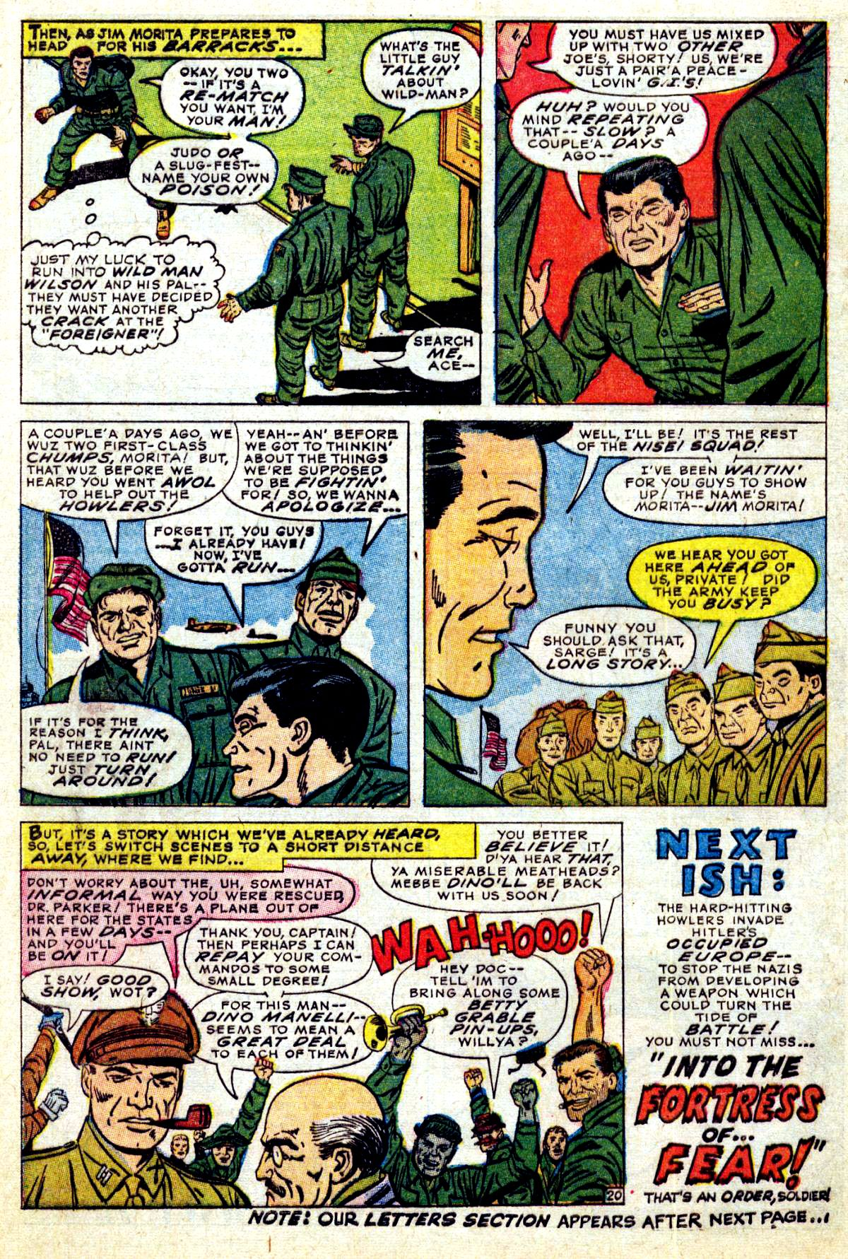 Read online Sgt. Fury comic -  Issue #38 - 28