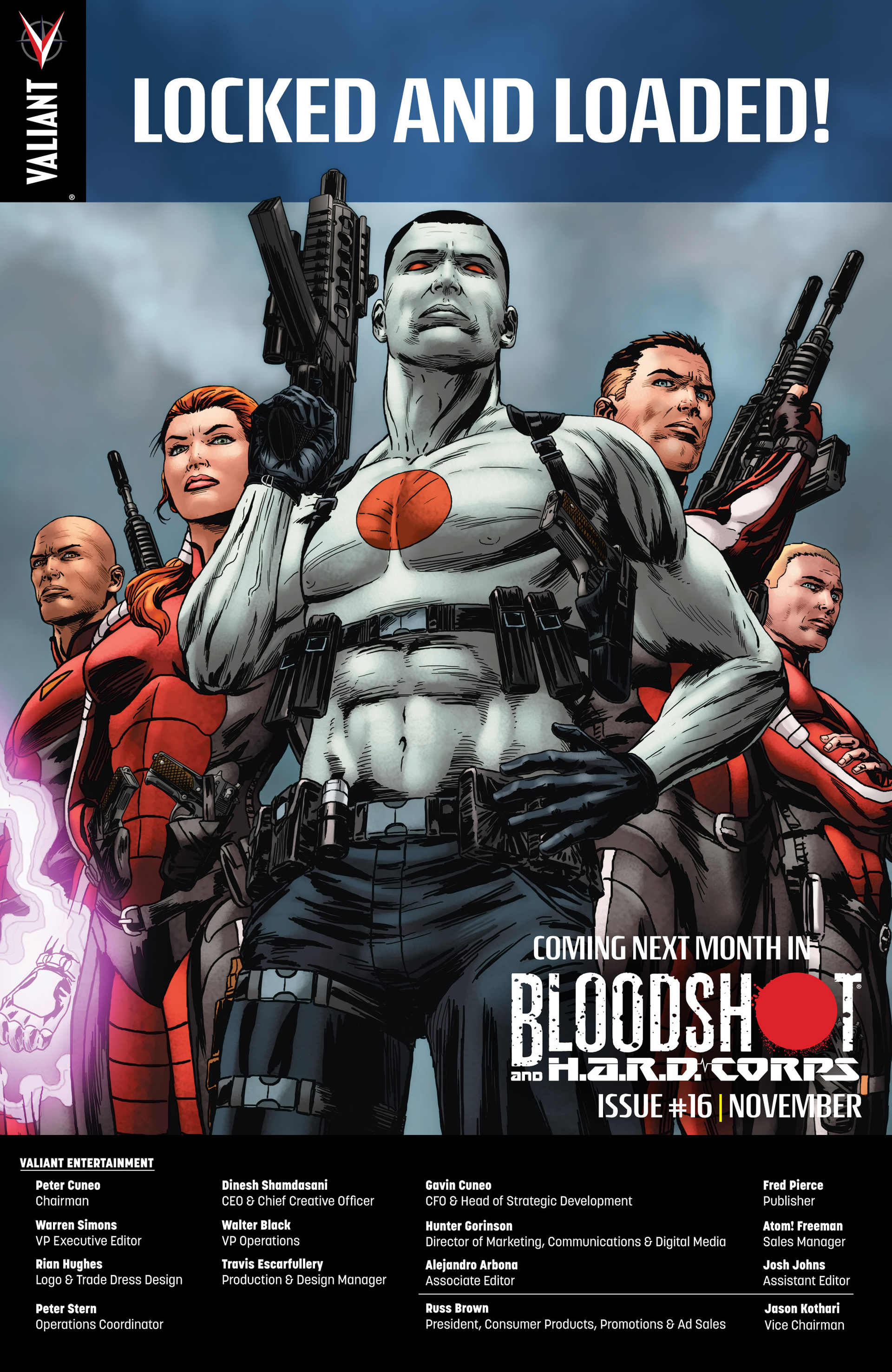 Read online Bloodshot and H.A.R.D.Corps comic -  Issue #15 - 25