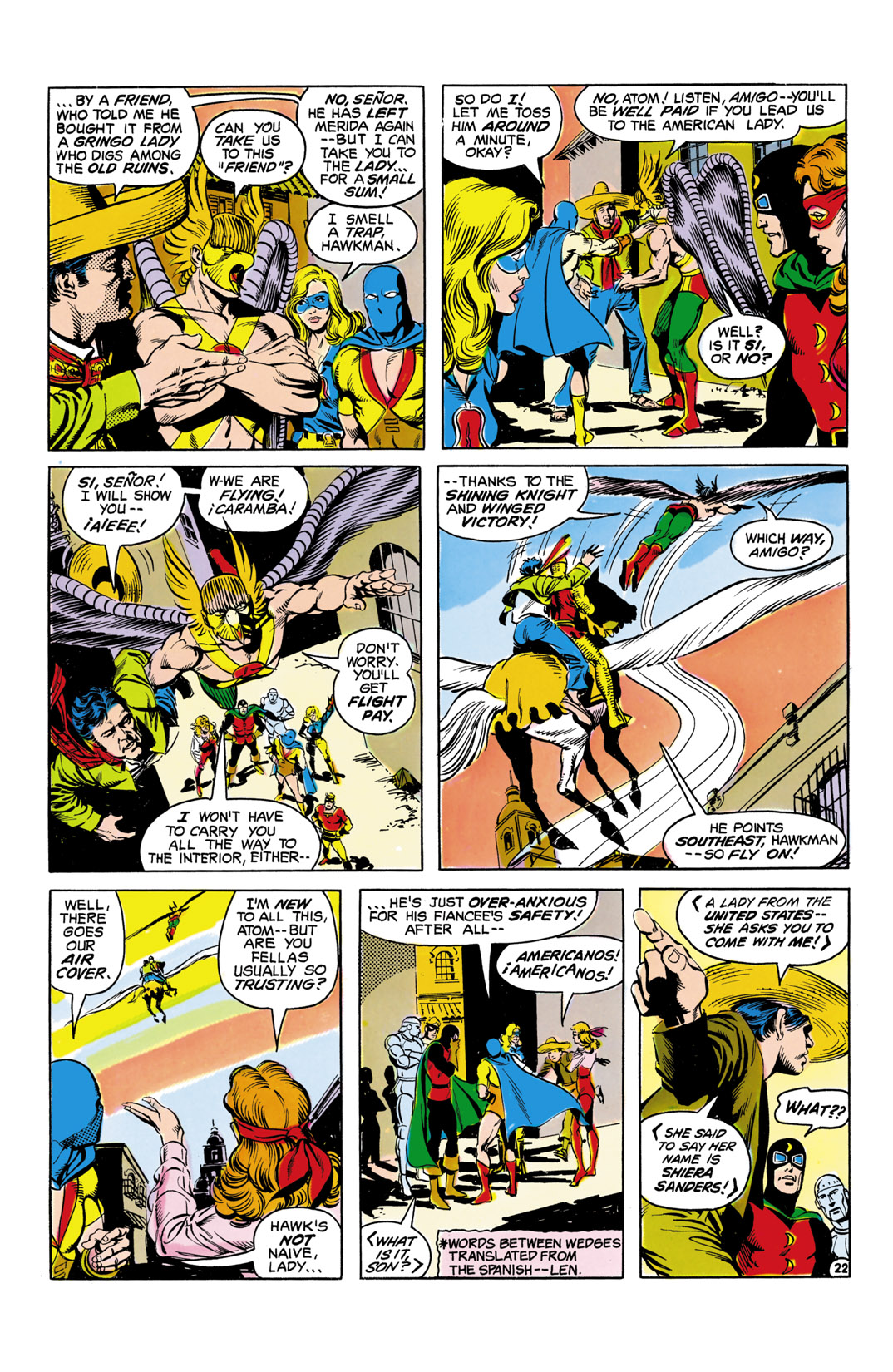 Read online All-Star Squadron comic -  Issue #5 - 23