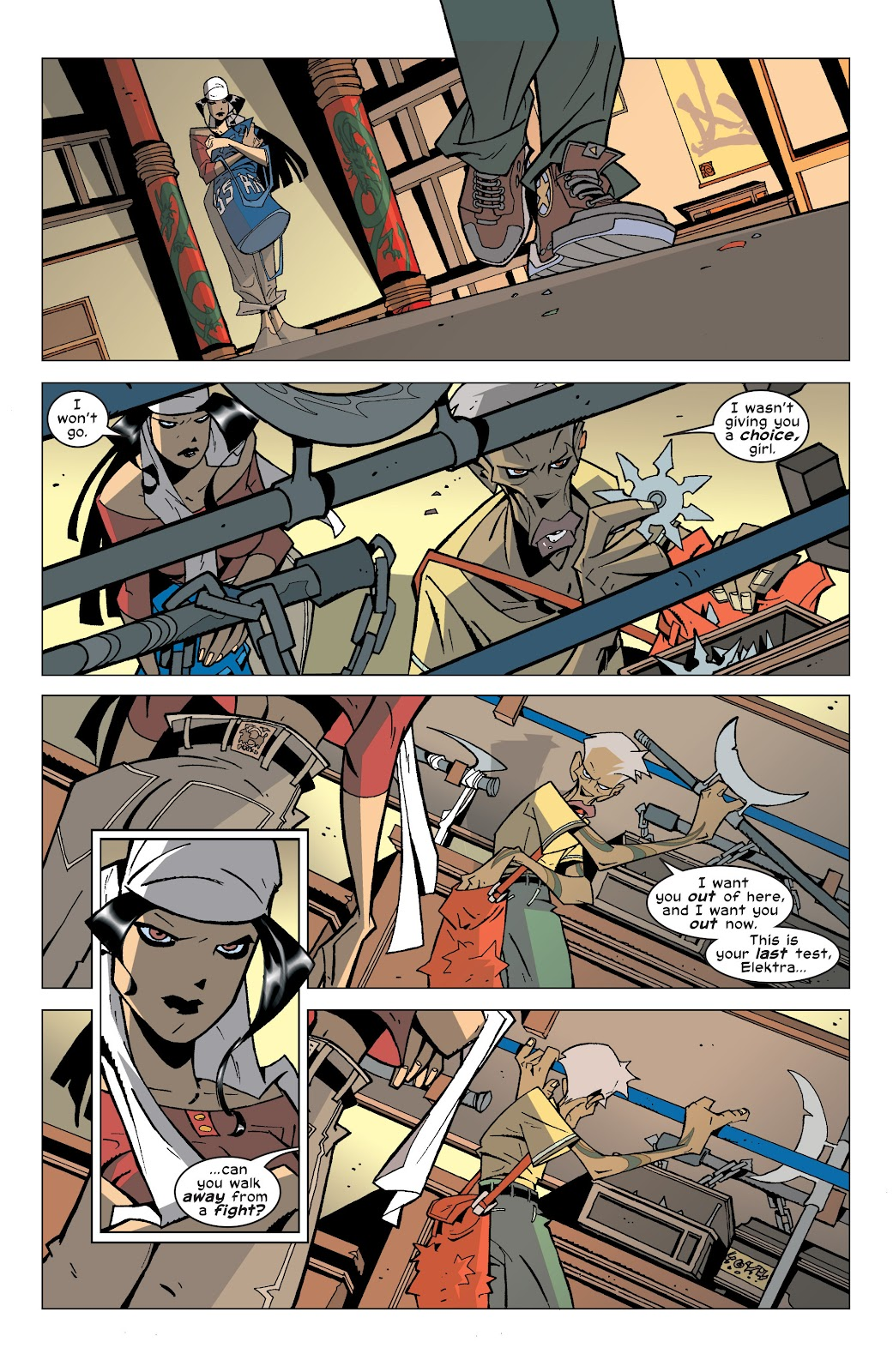 Read online Elektra (2001) comic -  Issue # _TPB Elektra by Greg Rucka Ultimate Collection (Part 4) - 24