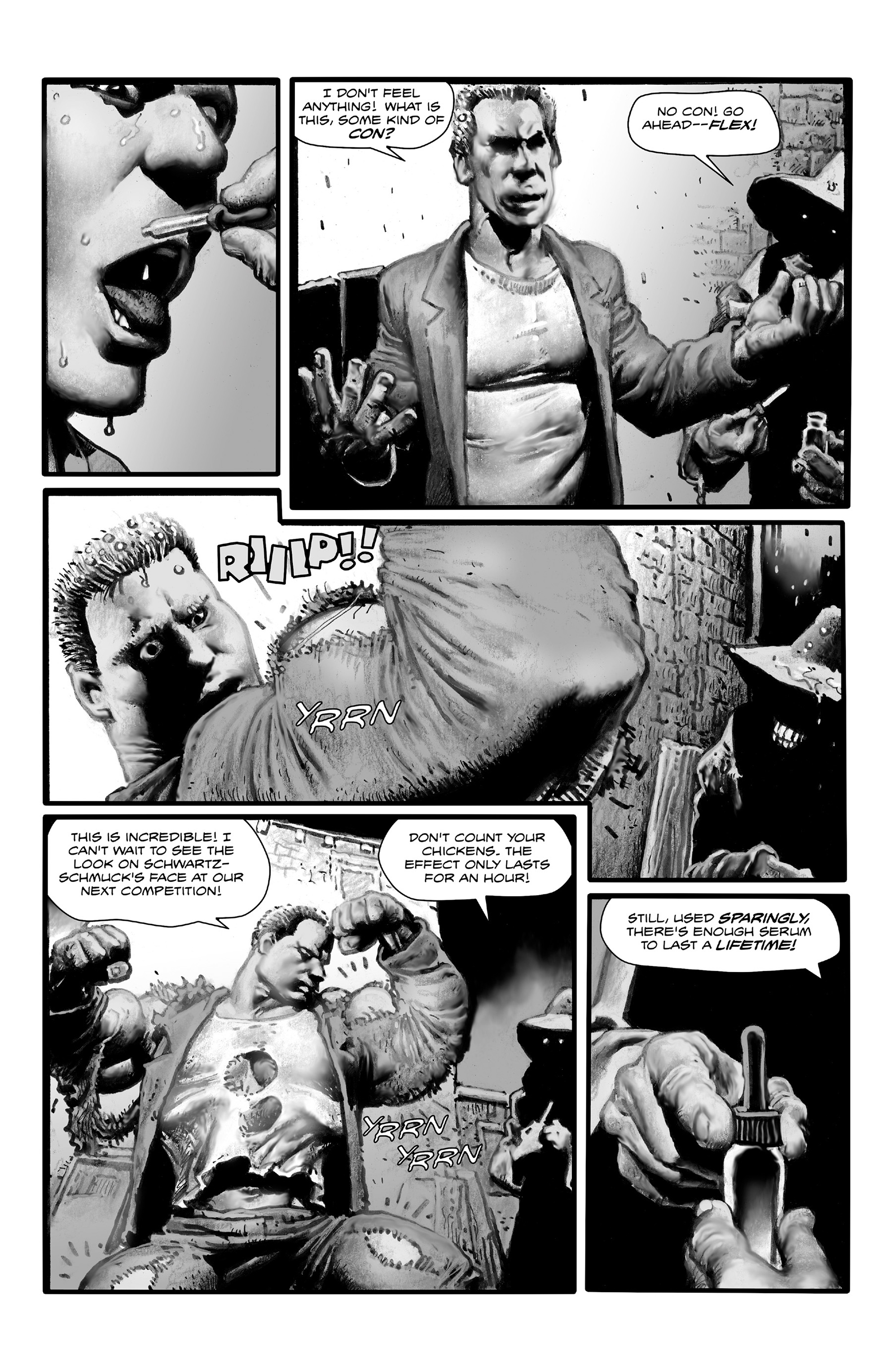 Read online Shadows on the Grave comic -  Issue #4 - 13