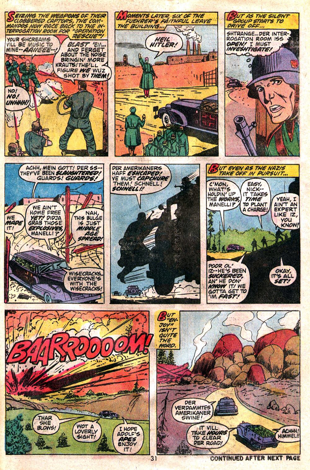 Read online Sgt. Fury comic -  Issue #120 - 33