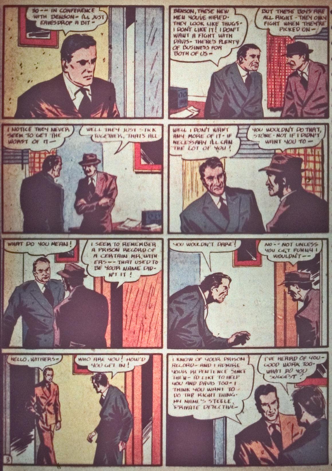Read online Detective Comics (1937) comic -  Issue #26 - 38