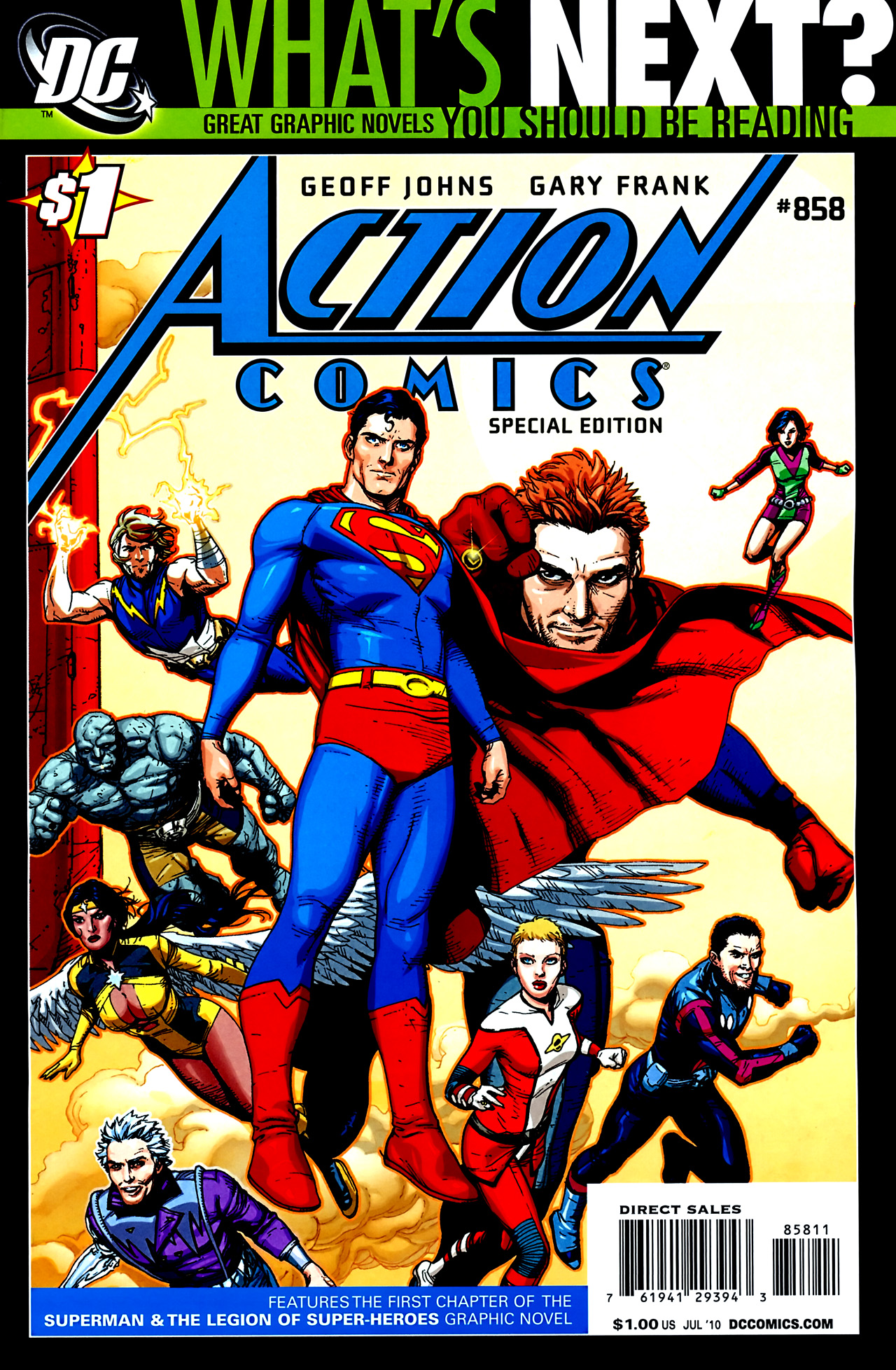 Read online Action Comics (1938) comic -  Issue #858 - 2