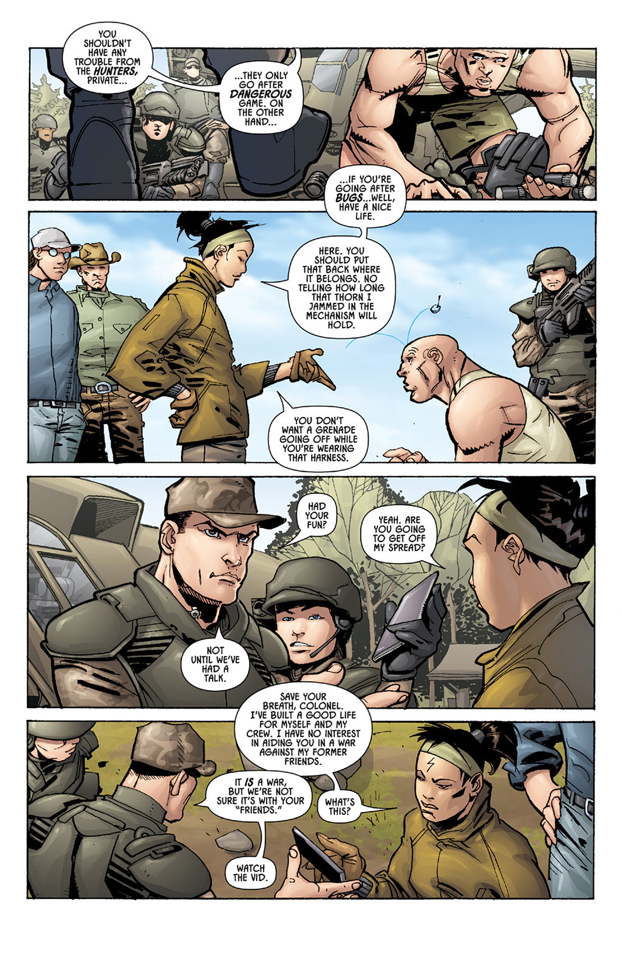 Read online Aliens vs. Predator: Three World War comic -  Issue #1 - 20