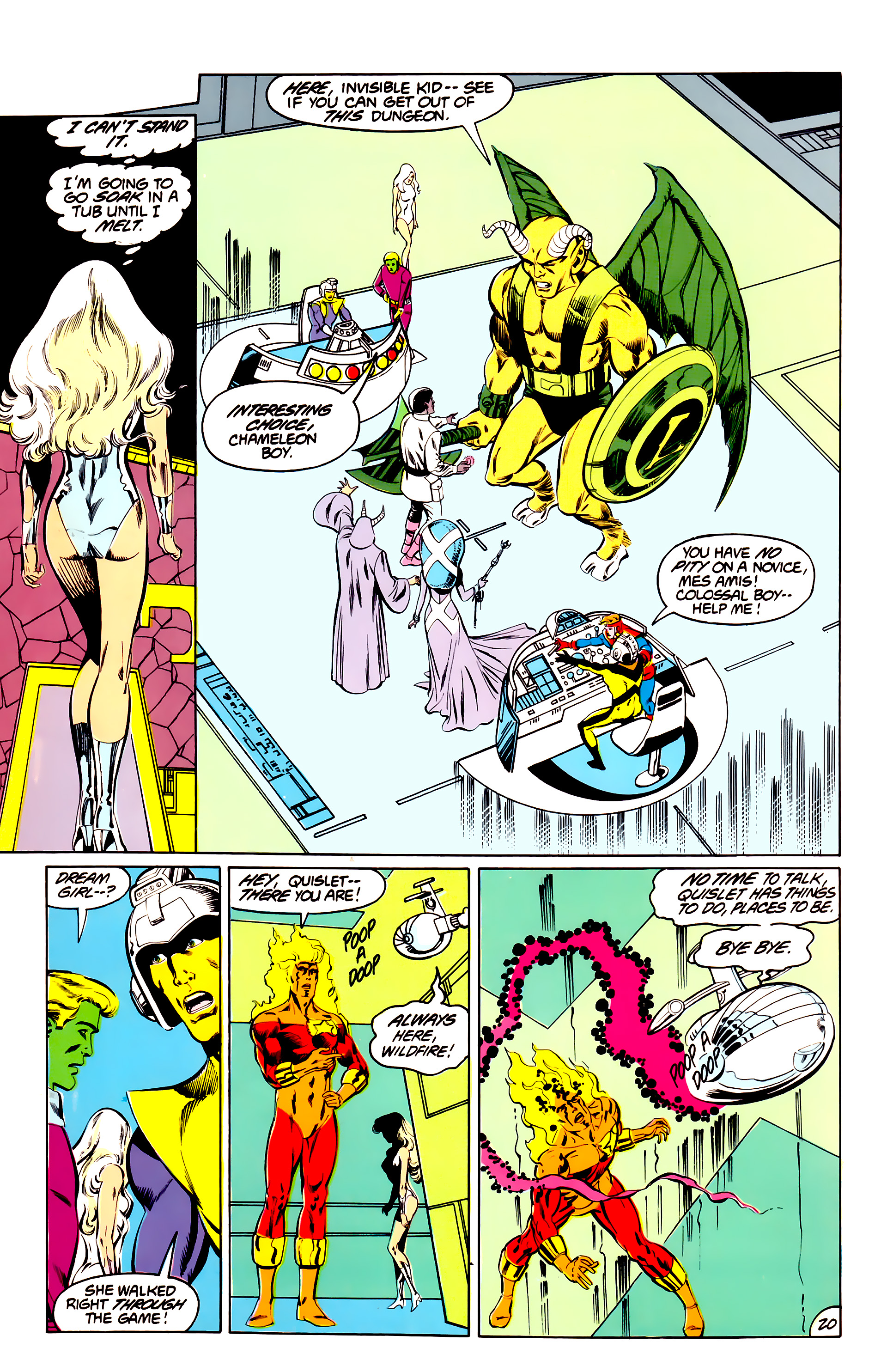 Legion of Super-Heroes (1984) 40 Page 20