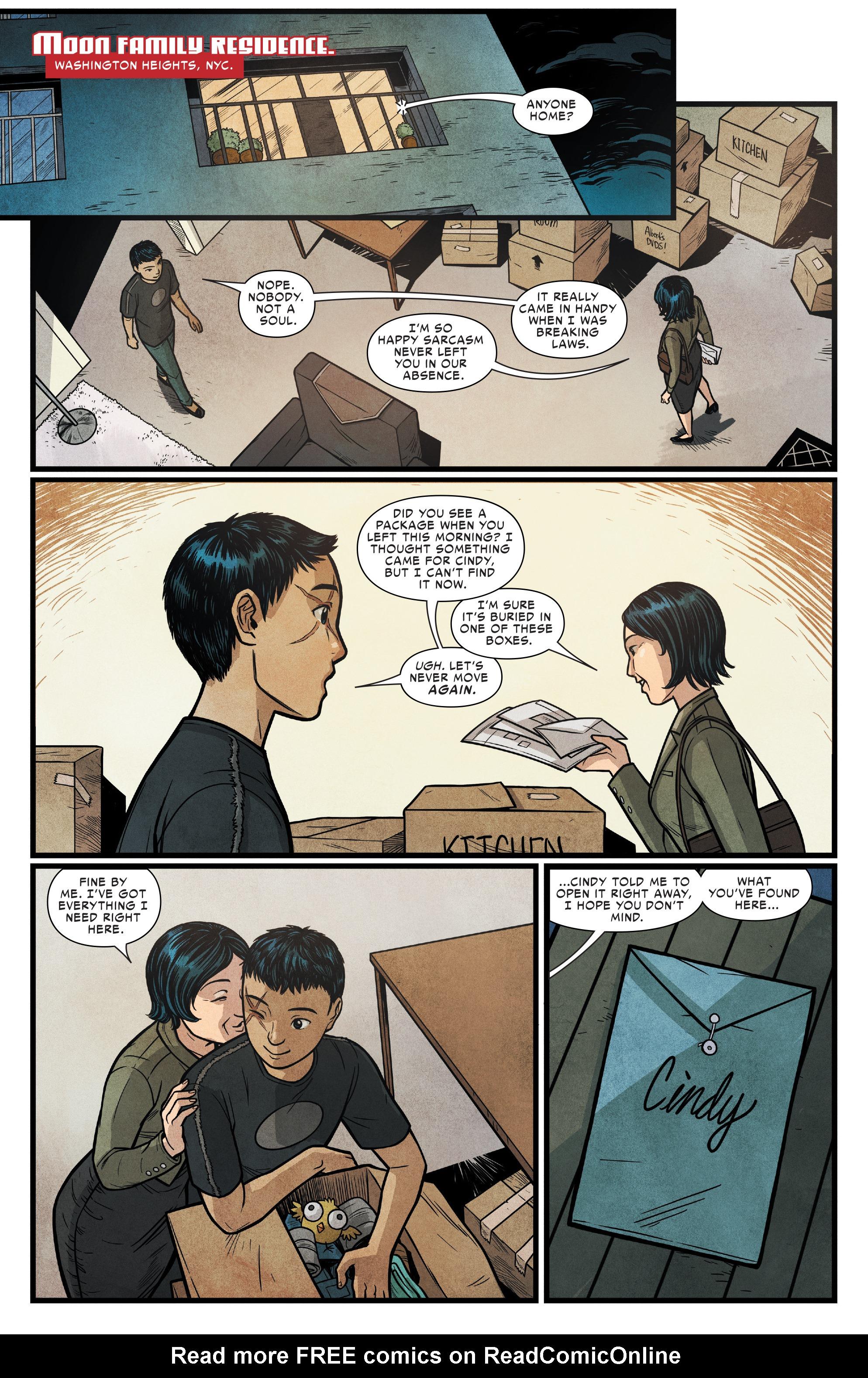 Read online Silk (2016) comic -  Issue #16 - 14