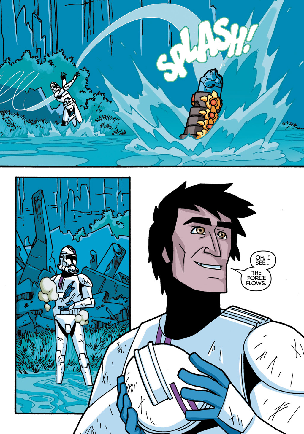 Read online Star Wars: The Clone Wars - Defenders of the Lost Temple comic -  Issue # Full - 76