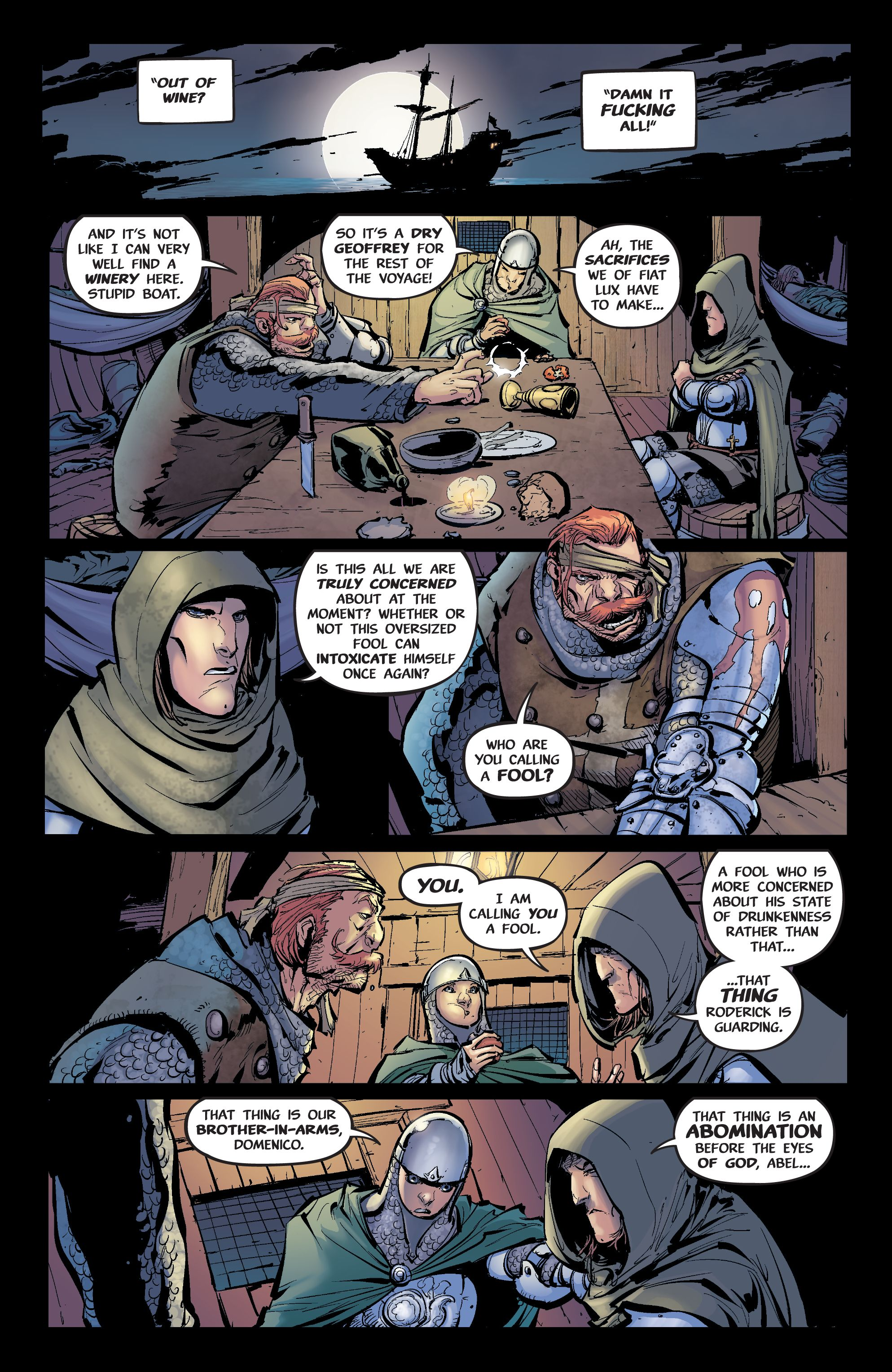 Read online Pestilence comic -  Issue #2 - 12