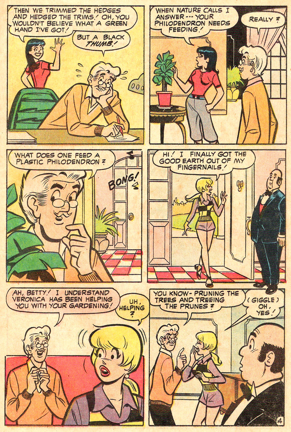 Read online Archie's Girls Betty and Veronica comic -  Issue #188 - 23