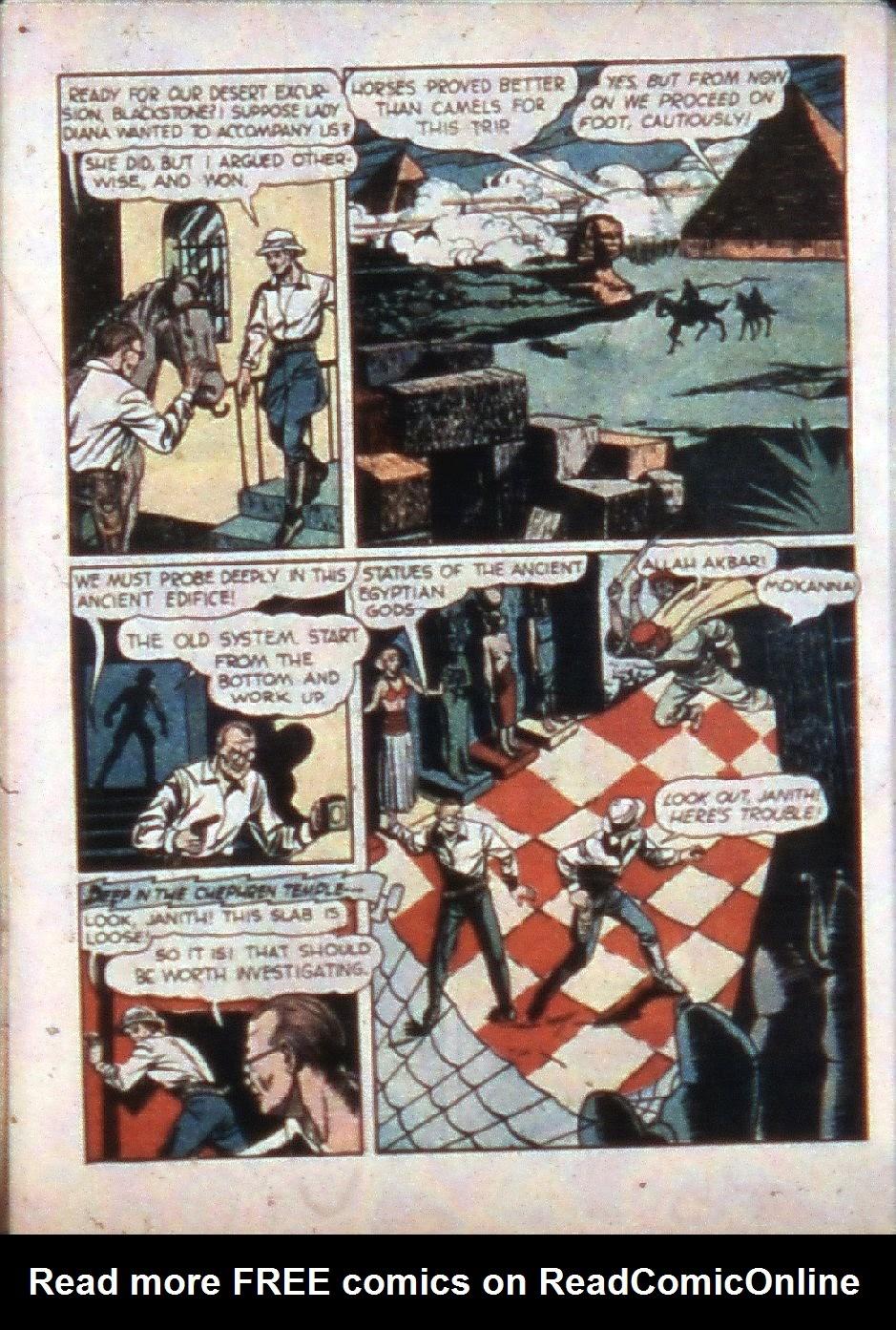 Read online Super-Magician Comics comic -  Issue #3 - 7