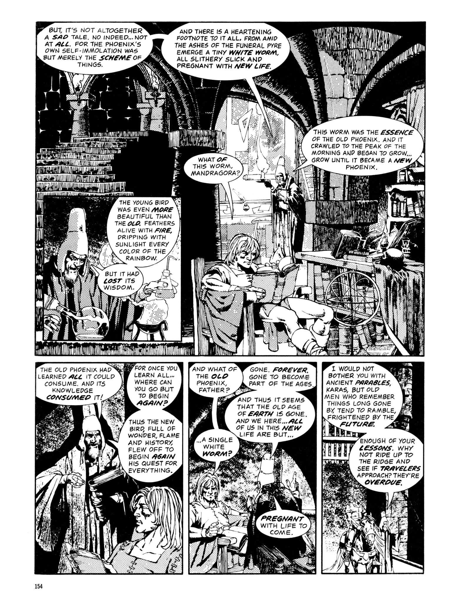 Read online Eerie Archives comic -  Issue # TPB 14 - 155