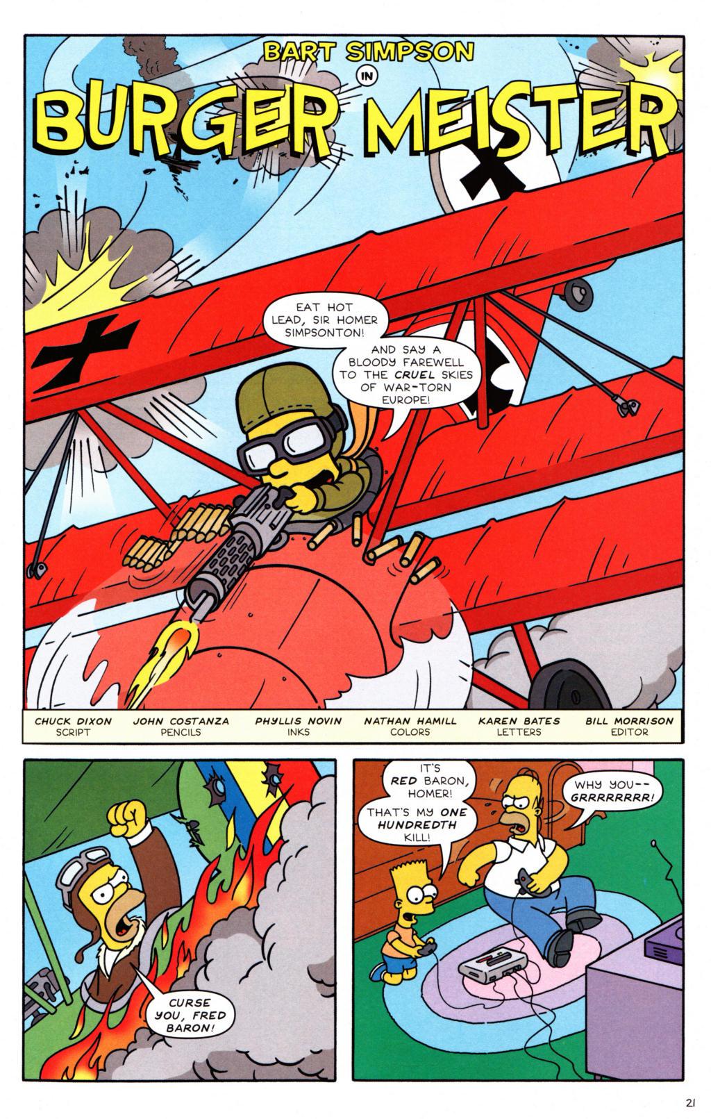 Read online Simpsons Comics Presents Bart Simpson comic -  Issue #34 - 16
