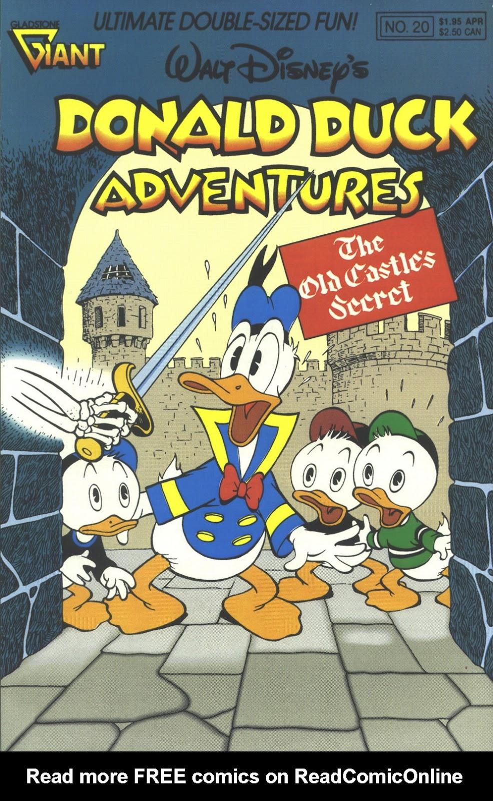Walt Disney's Donald Duck Adventures (1987) issue 20 - Page 1