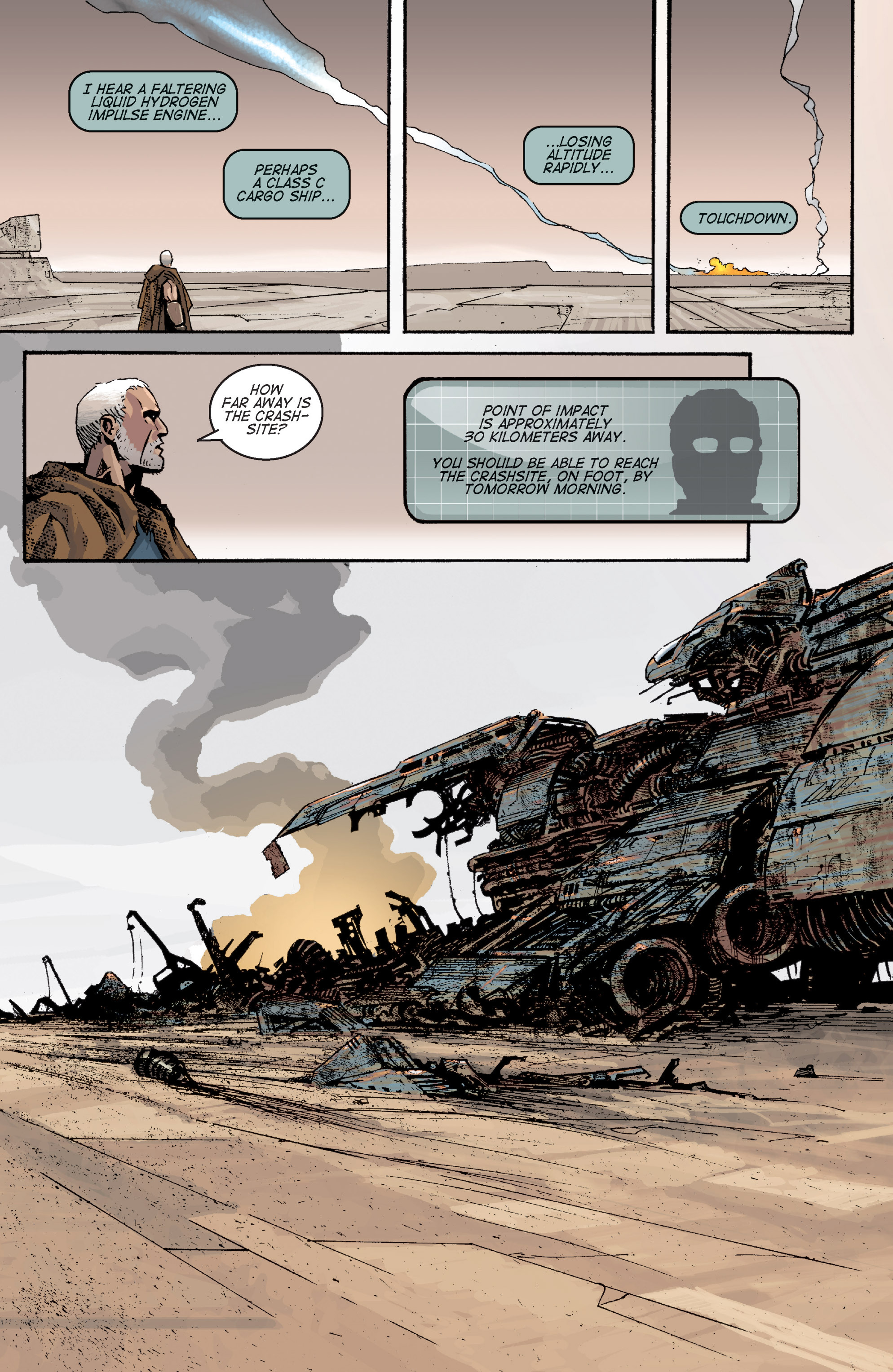 Read online Planetoid comic -  Issue # TPB - 56