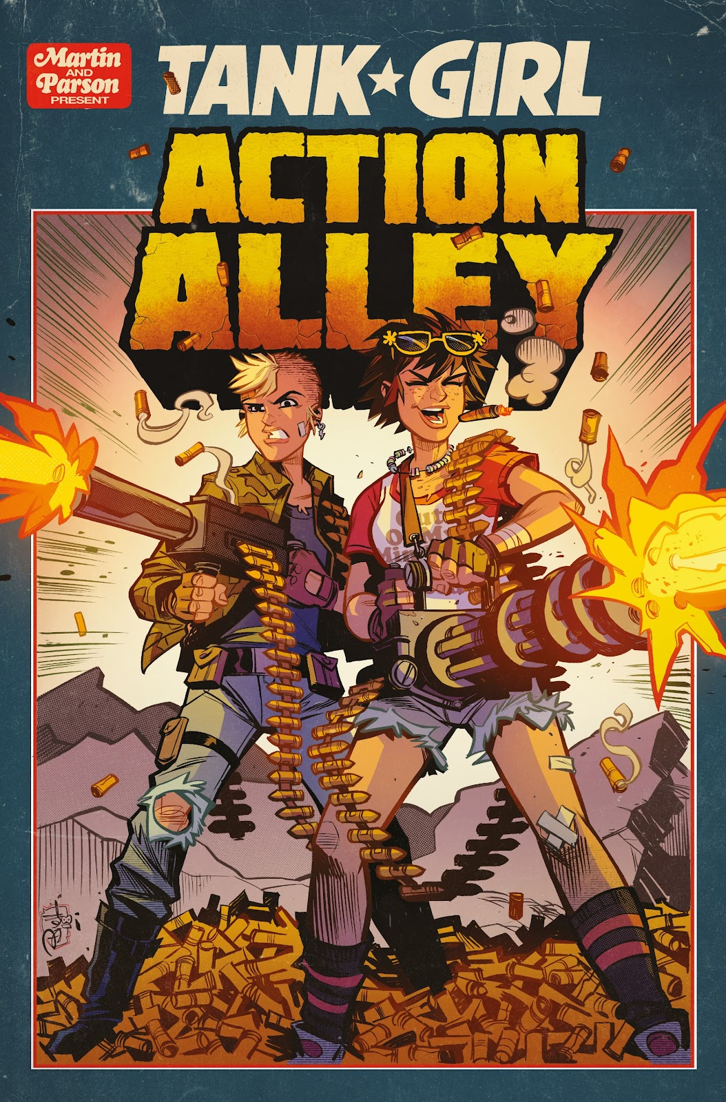 Read online Tank Girl Ongoing comic -  Issue #3 - 1