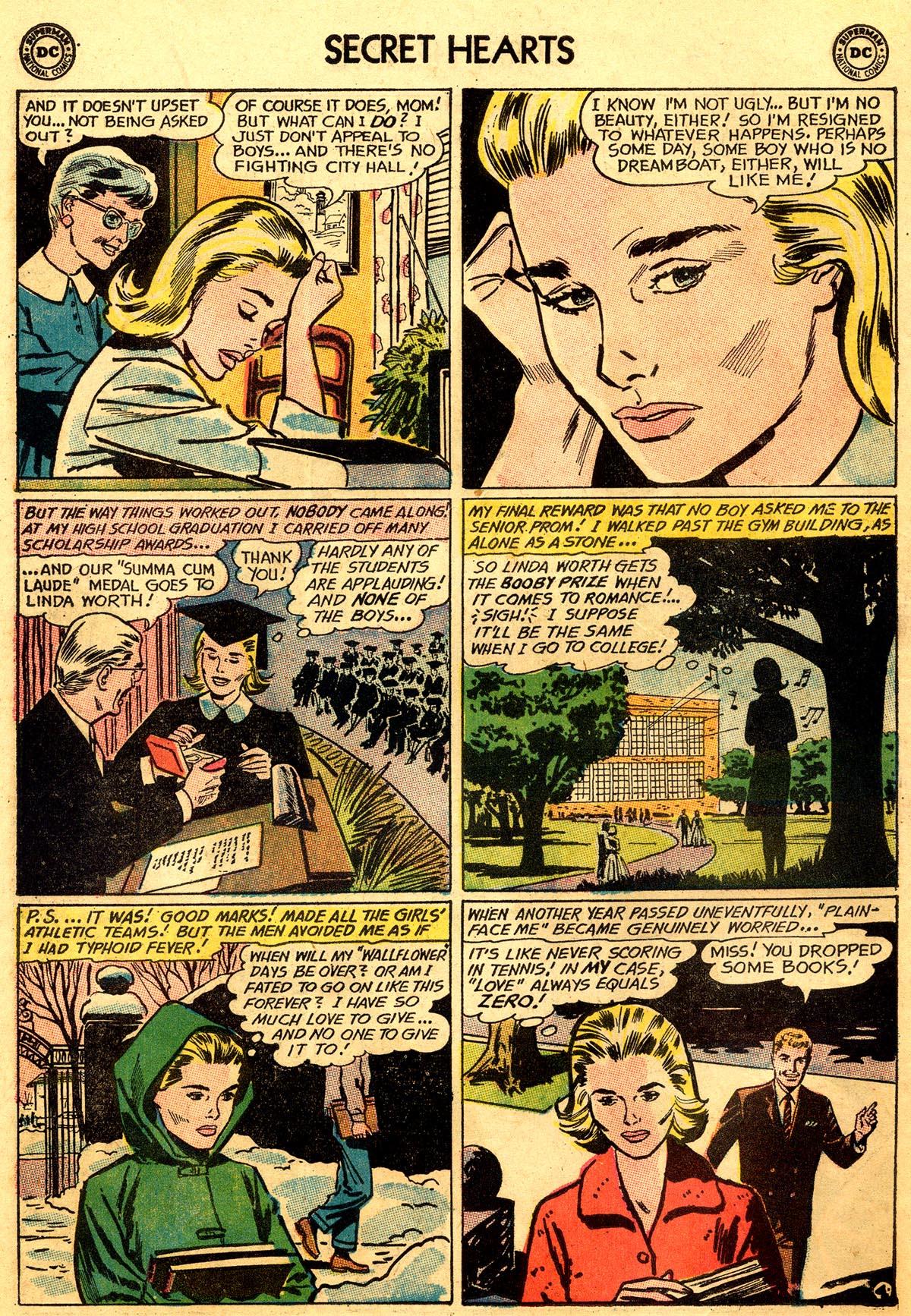 Read online Secret Hearts comic -  Issue #93 - 6