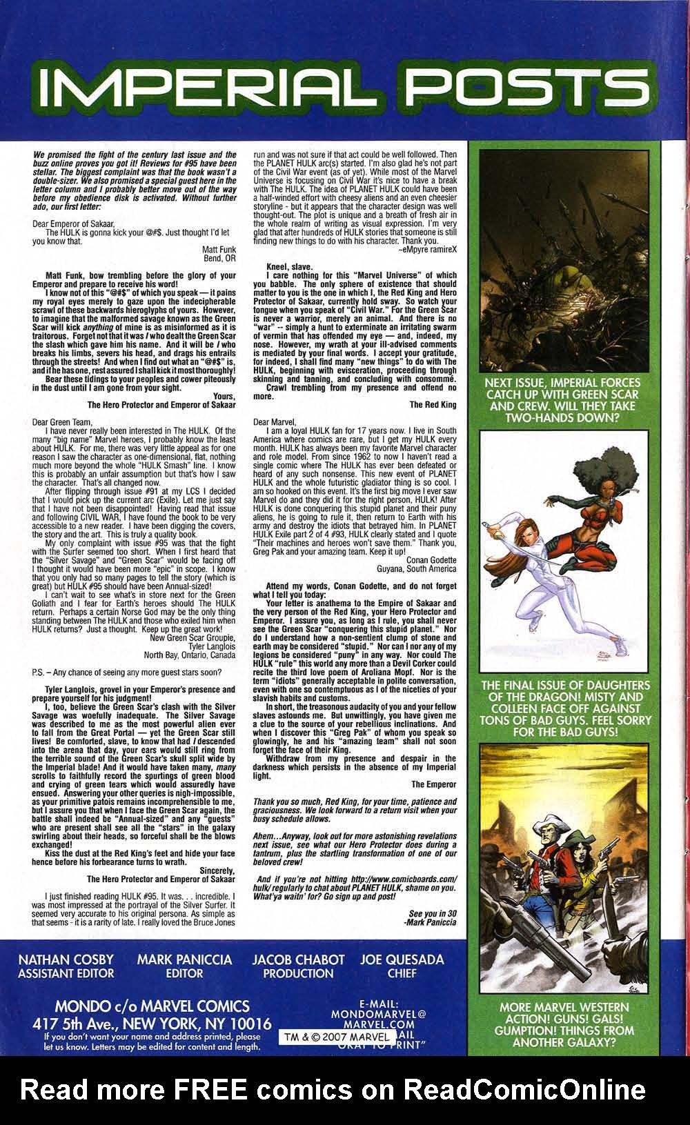 Read online The Incredible Hulk (2000) comic -  Issue #96 - 34