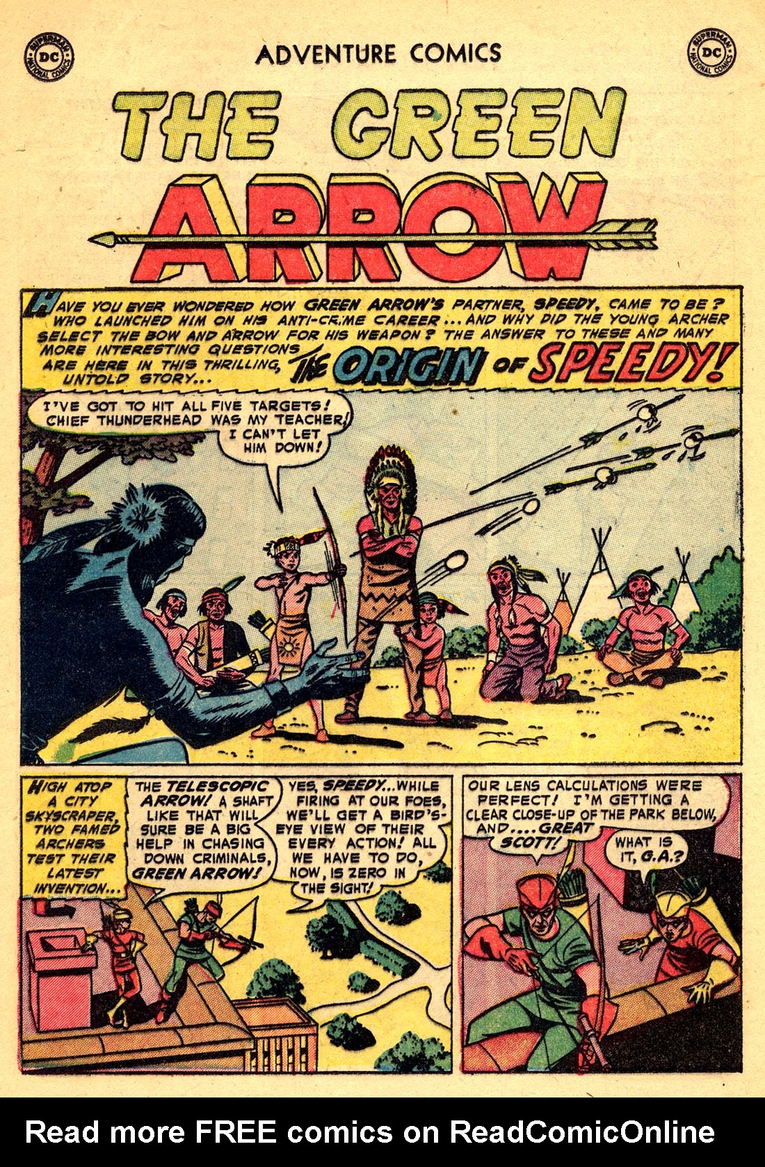 Read online Adventure Comics (1938) comic -  Issue #209 - 25