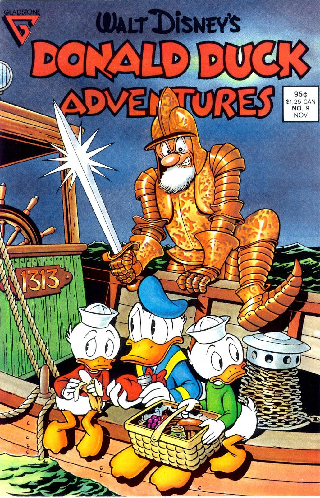 Walt Disney's Donald Duck Adventures (1987) issue 9 - Page 1