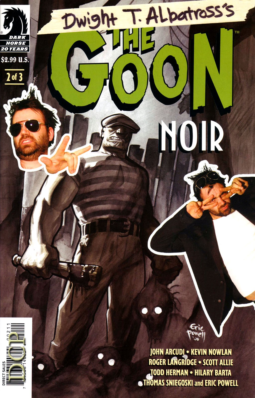 The Goon - Noir issue 2 - Page 1