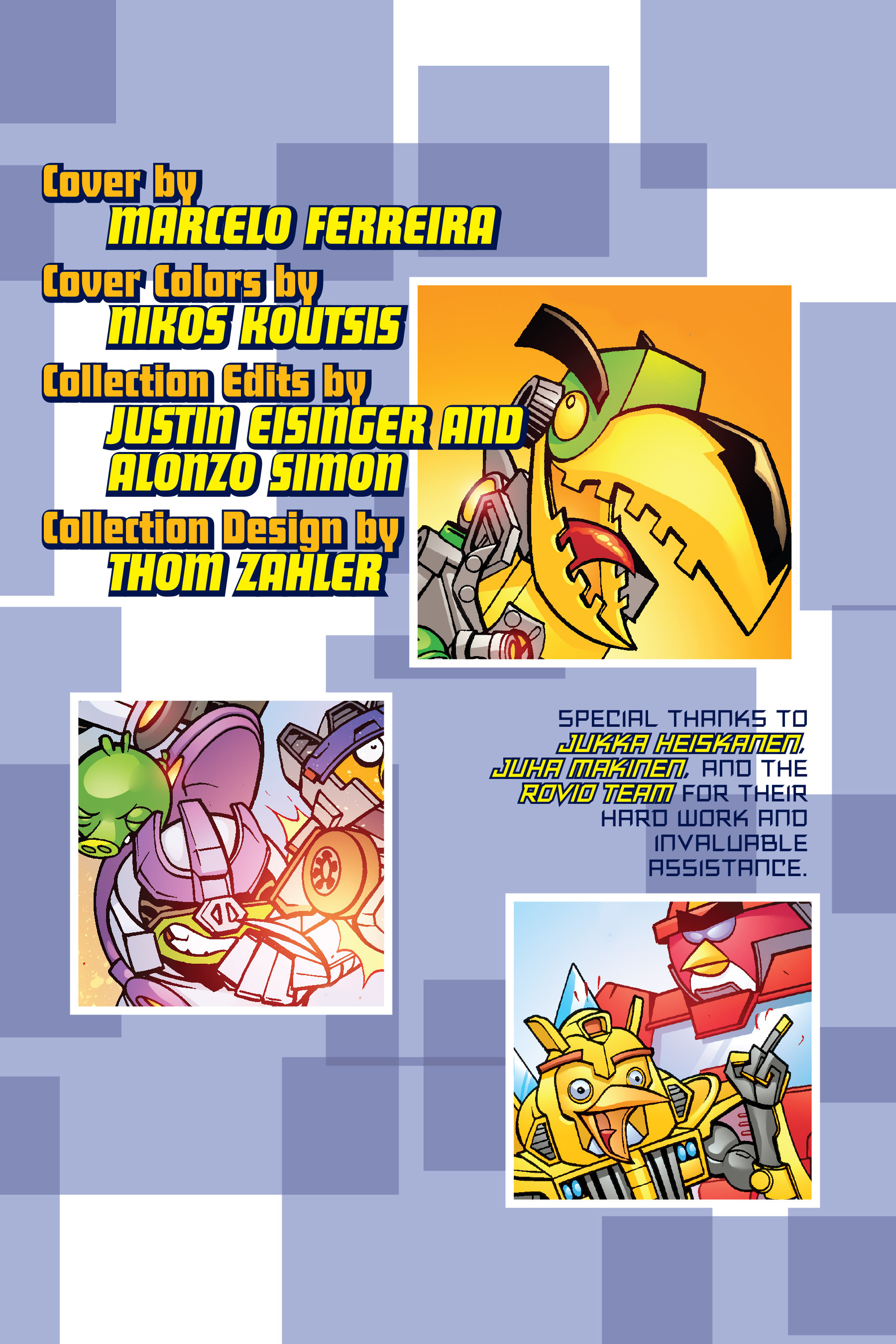 Read online Angry Birds Transformers: Age of Eggstinction comic -  Issue # Full - 4