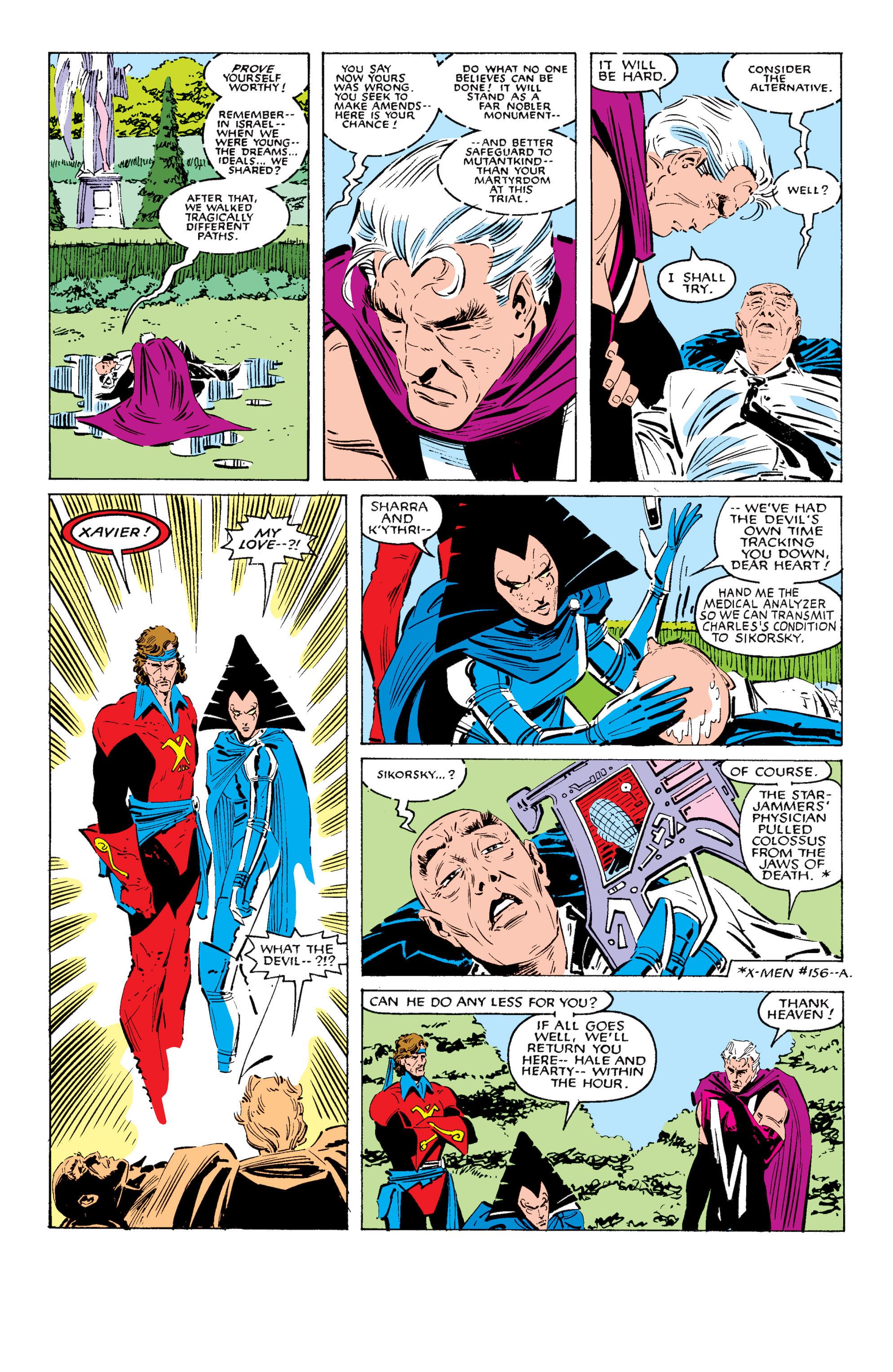 Read online Uncanny X-Men (1963) comic -  Issue #200 - 39