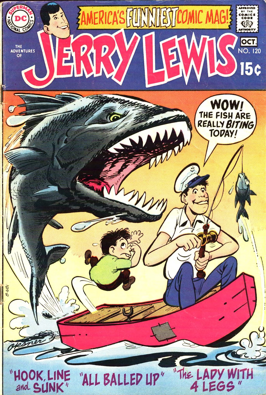 The Adventures of Jerry Lewis 120 Page 1