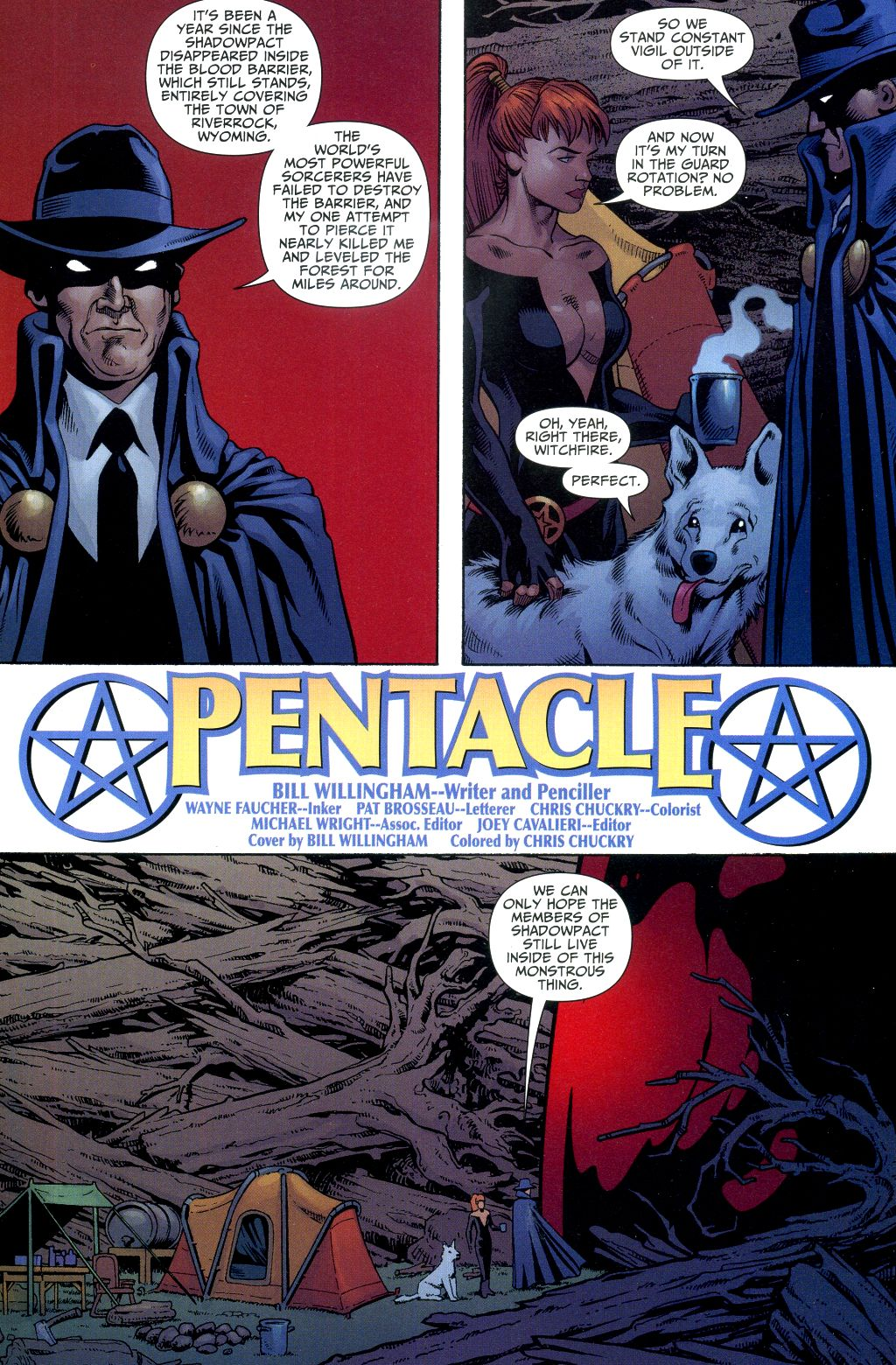 Read online Shadowpact comic -  Issue #2 - 2