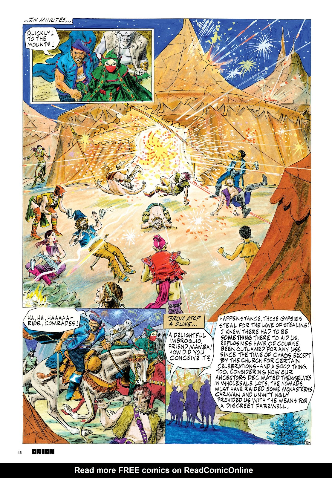 Read online Orion and Edge of Chaos comic -  Issue # TPB - 46