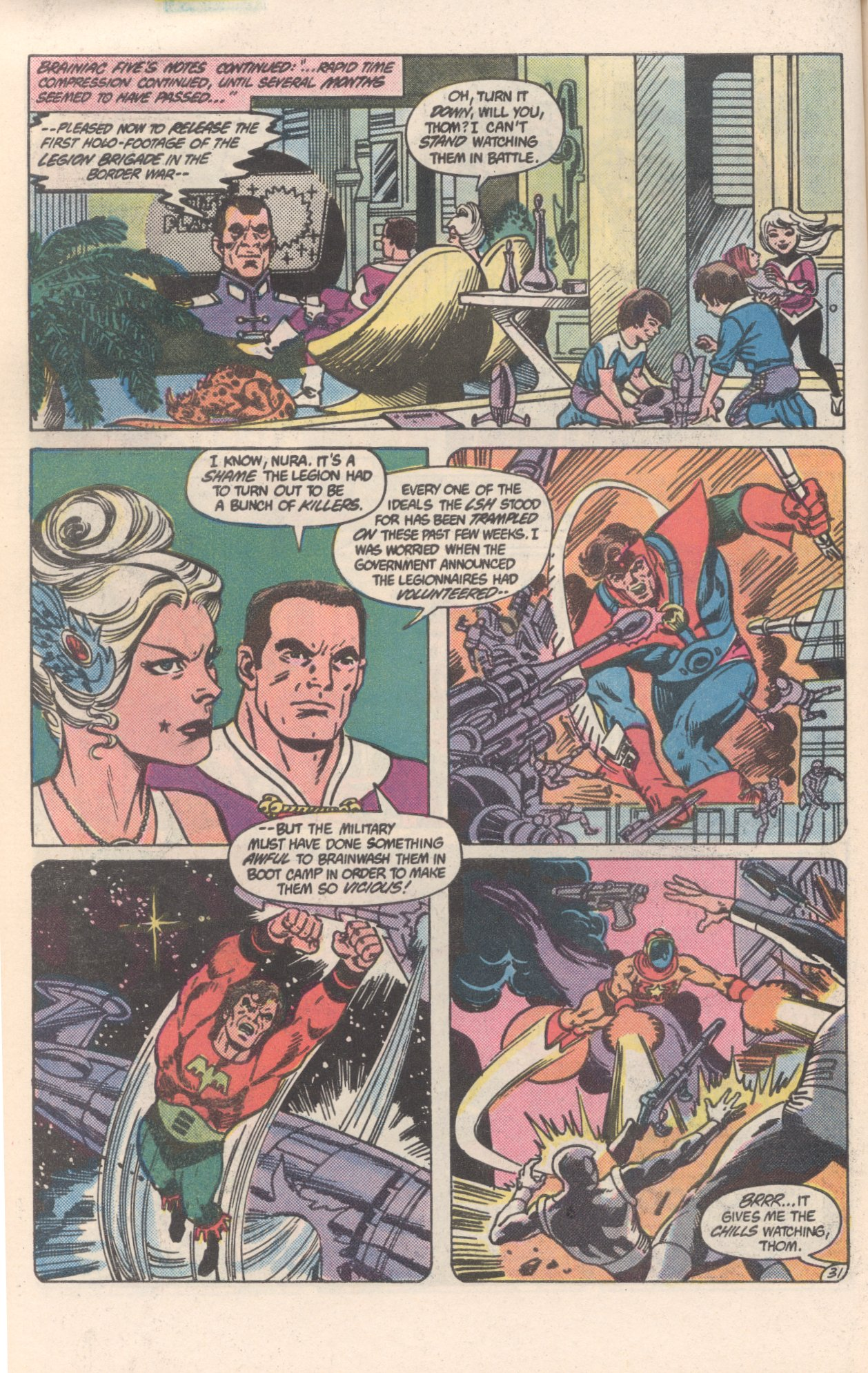 Legion of Super-Heroes (1980) 300 Page 31