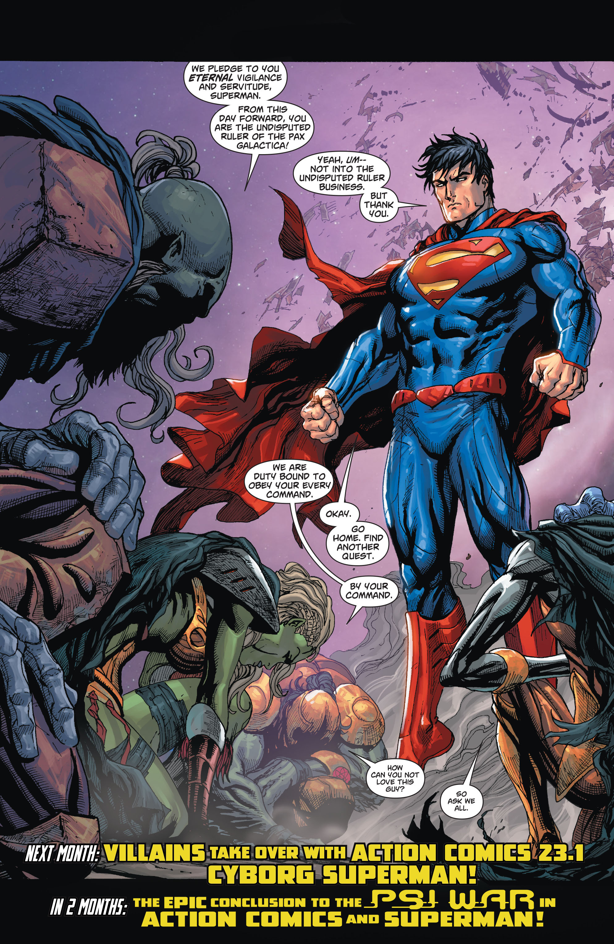 Read online Action Comics (2011) comic -  Issue #23 - 17
