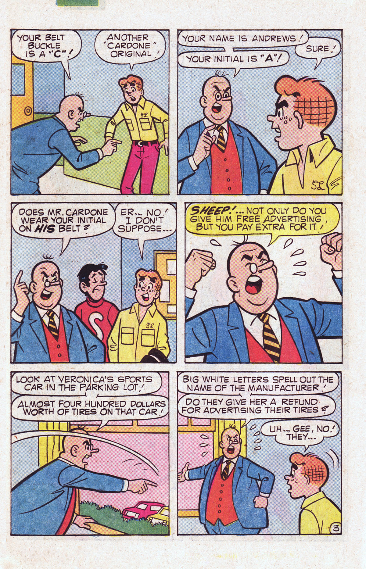 Read online Archie (1960) comic -  Issue #301 - 22