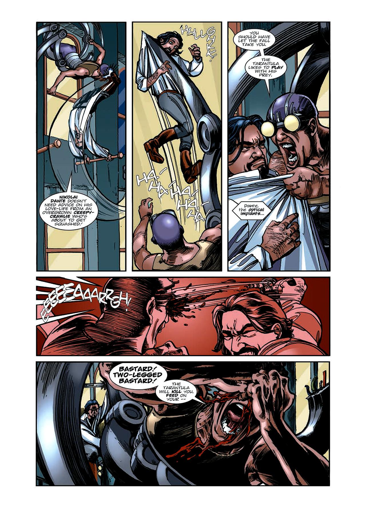 Read online Nikolai Dante comic -  Issue # TPB 6 - 64