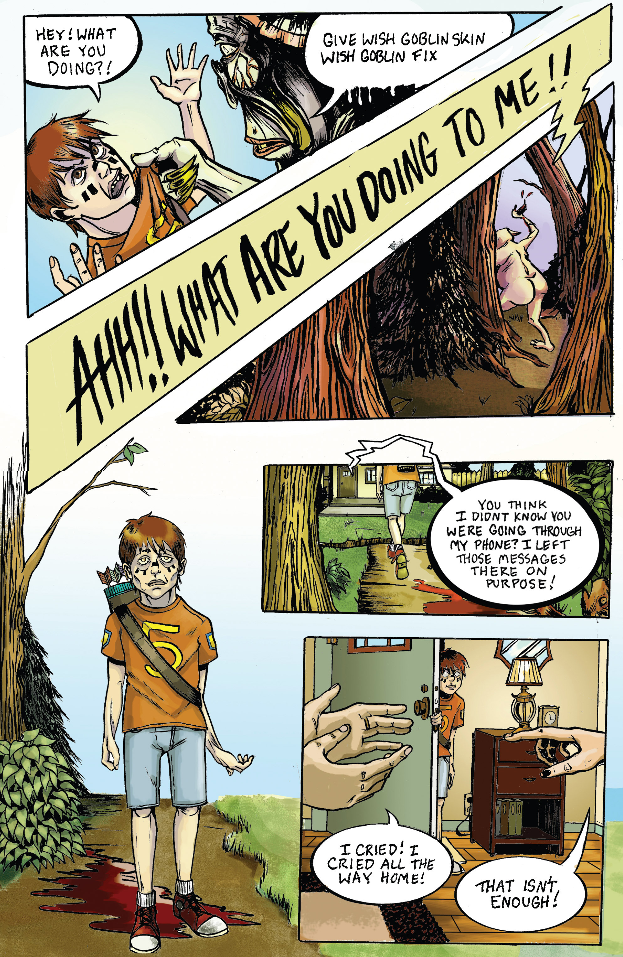 Read online Amazing Forest (2016) comic -  Issue #5 - 15
