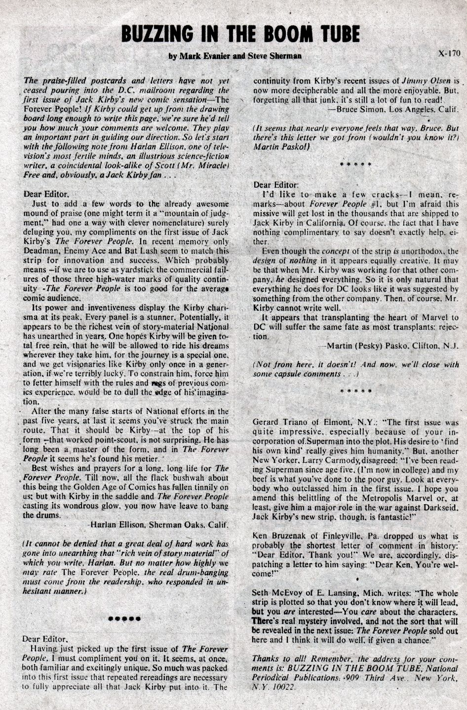 Forever People (1971) issue 3 - Page 31