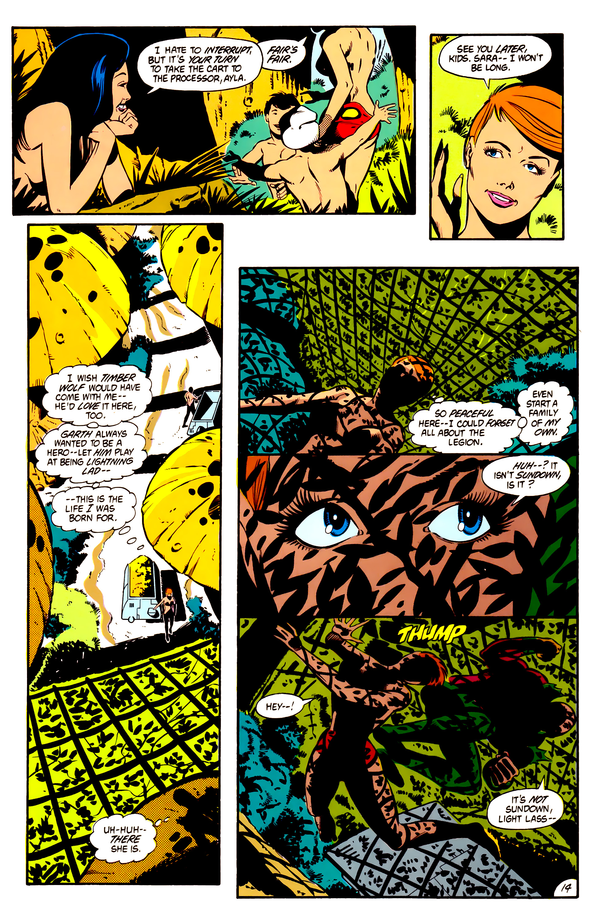 Legion of Super-Heroes (1984) 1 Page 15