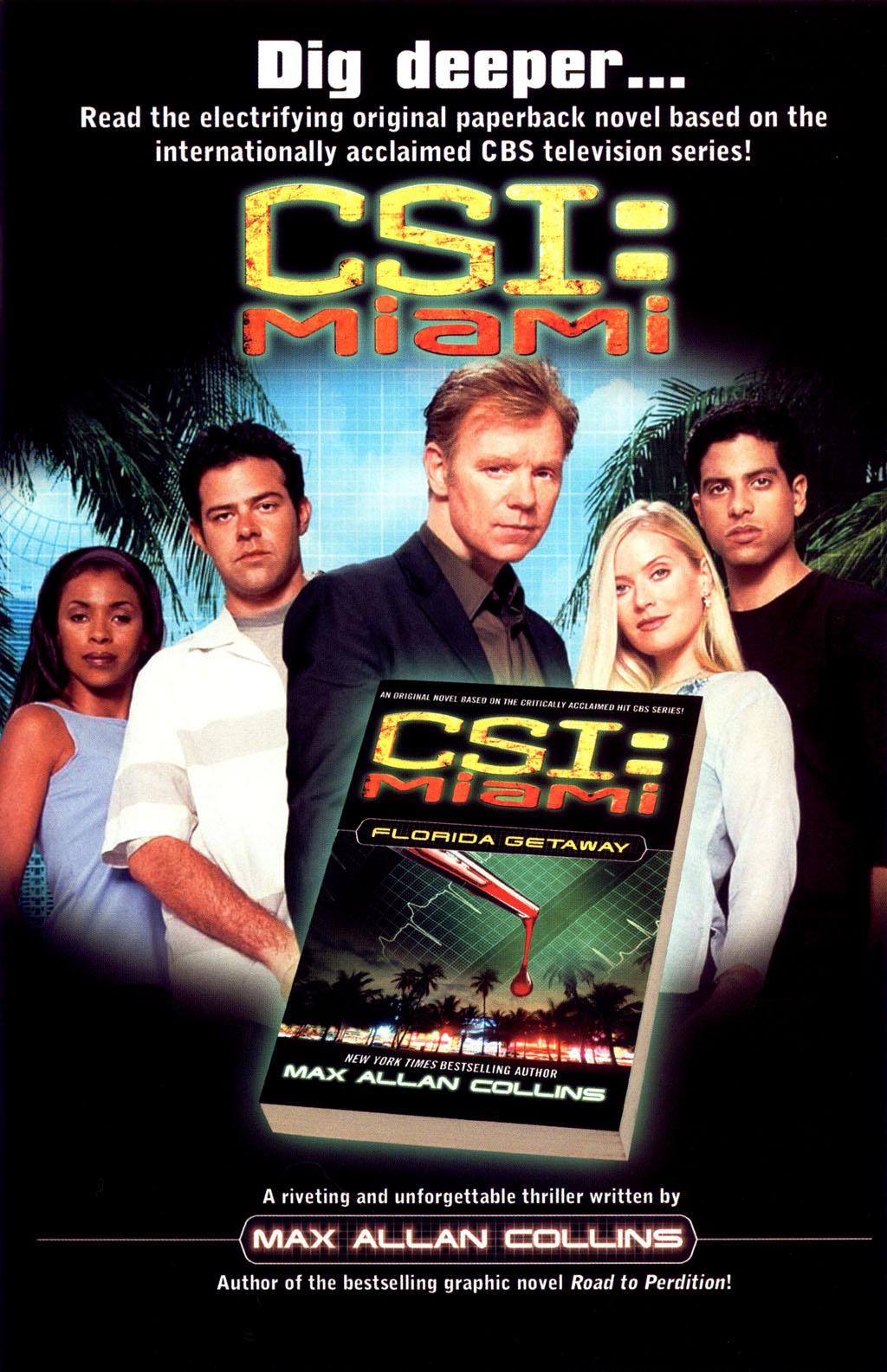 Read online CSI: Crime Scene Investigation: Bad Rap comic -  Issue #4 - 28