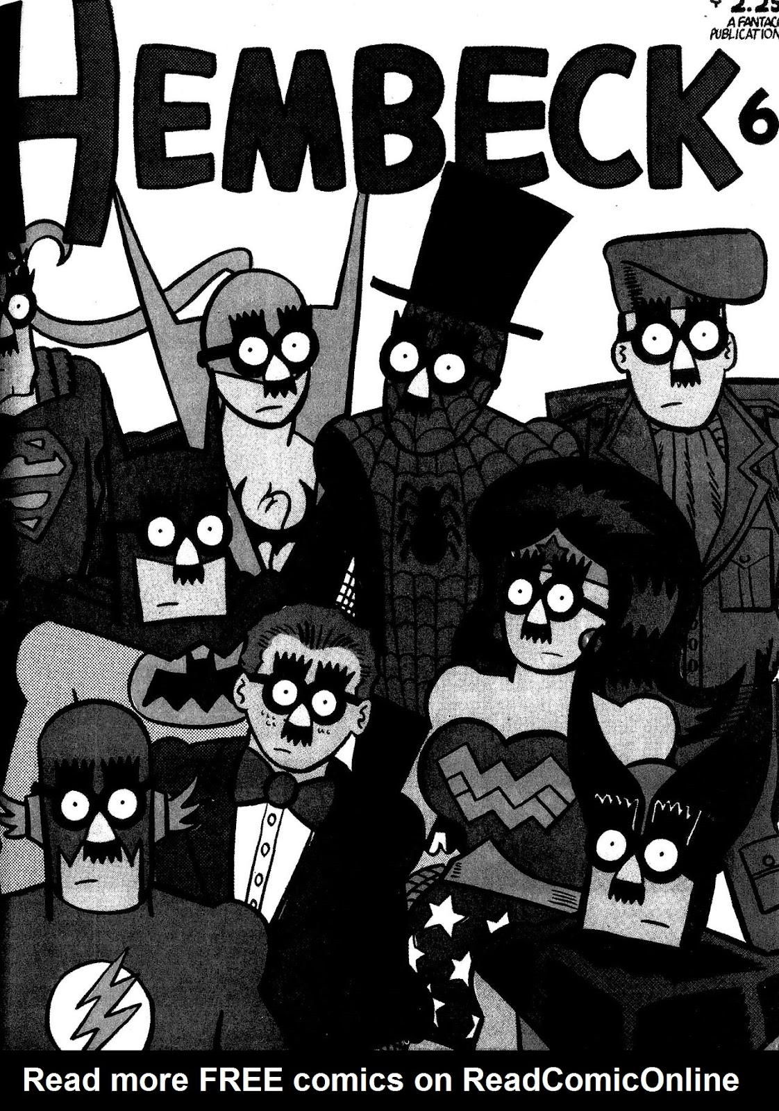 Read online The Nearly Complete Essential Hembeck Archives Omnibus comic -  Issue # TPB (Part 3) - 37